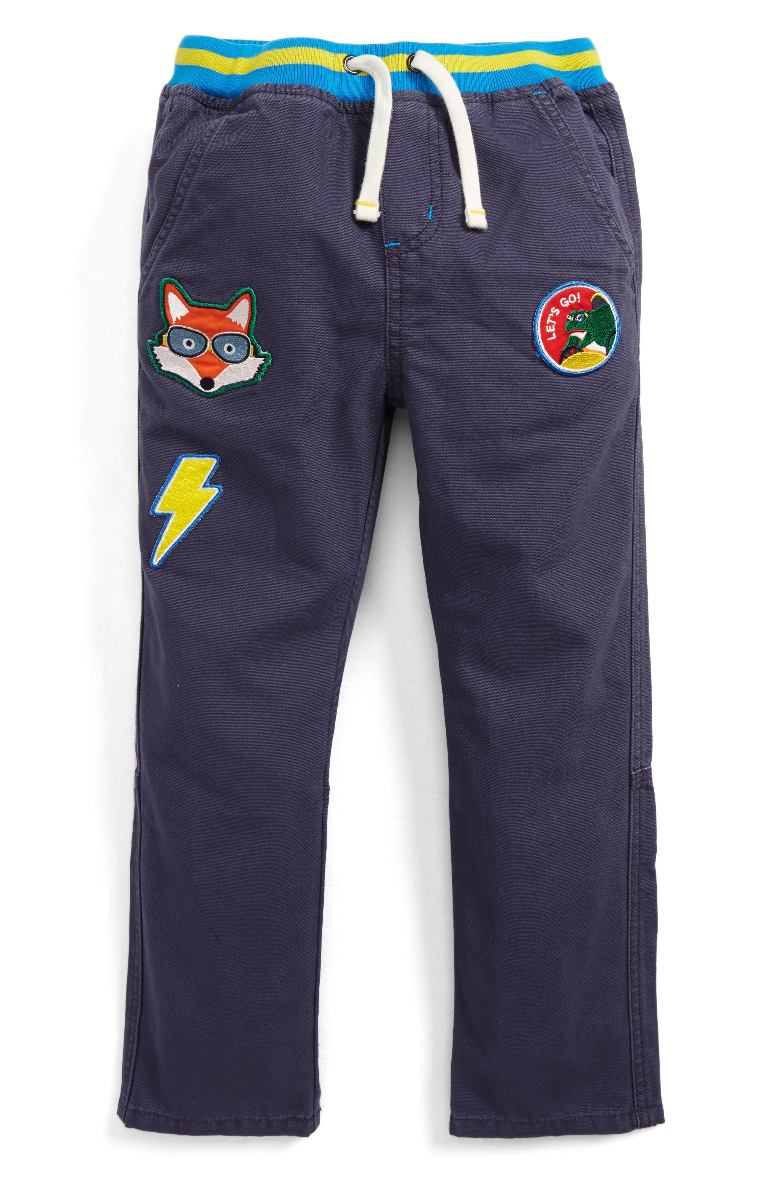Pull-On Canvas Pants,                             Main thumbnail 1, color,