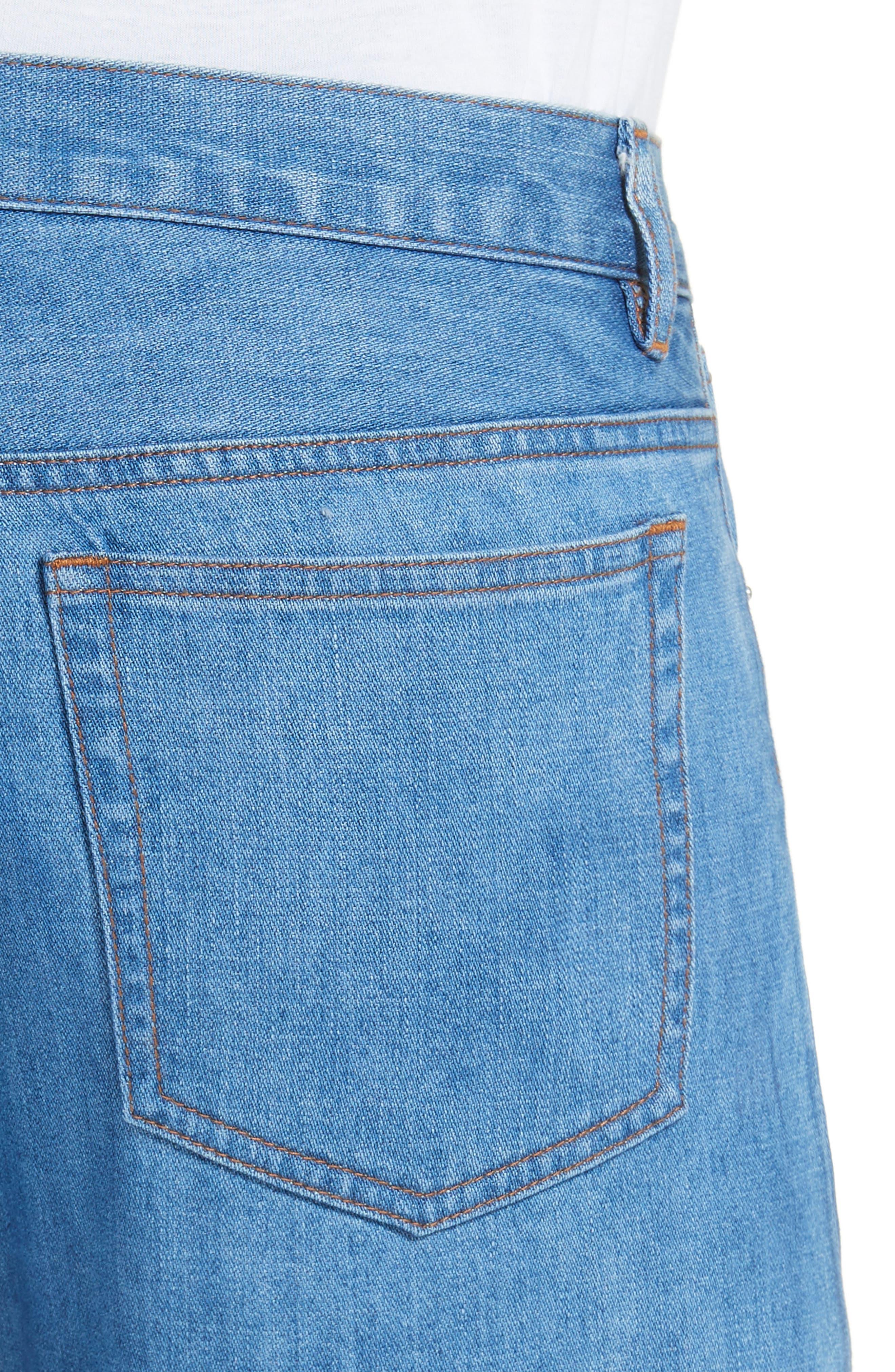 Petit New Standard Slim Fit Jeans,                             Alternate thumbnail 3, color,                             461