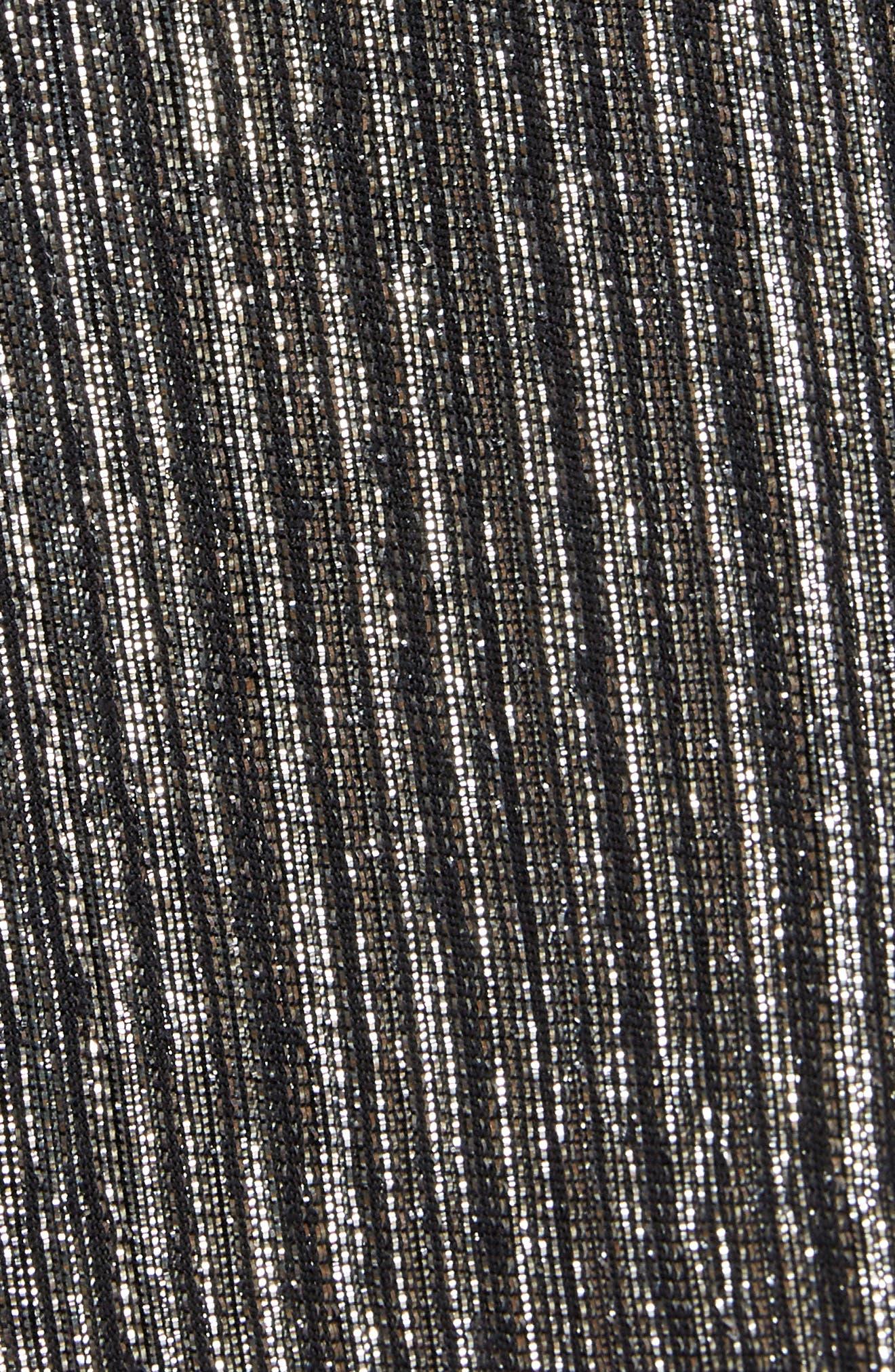 Metallic Blazer,                             Alternate thumbnail 6, color,                             040
