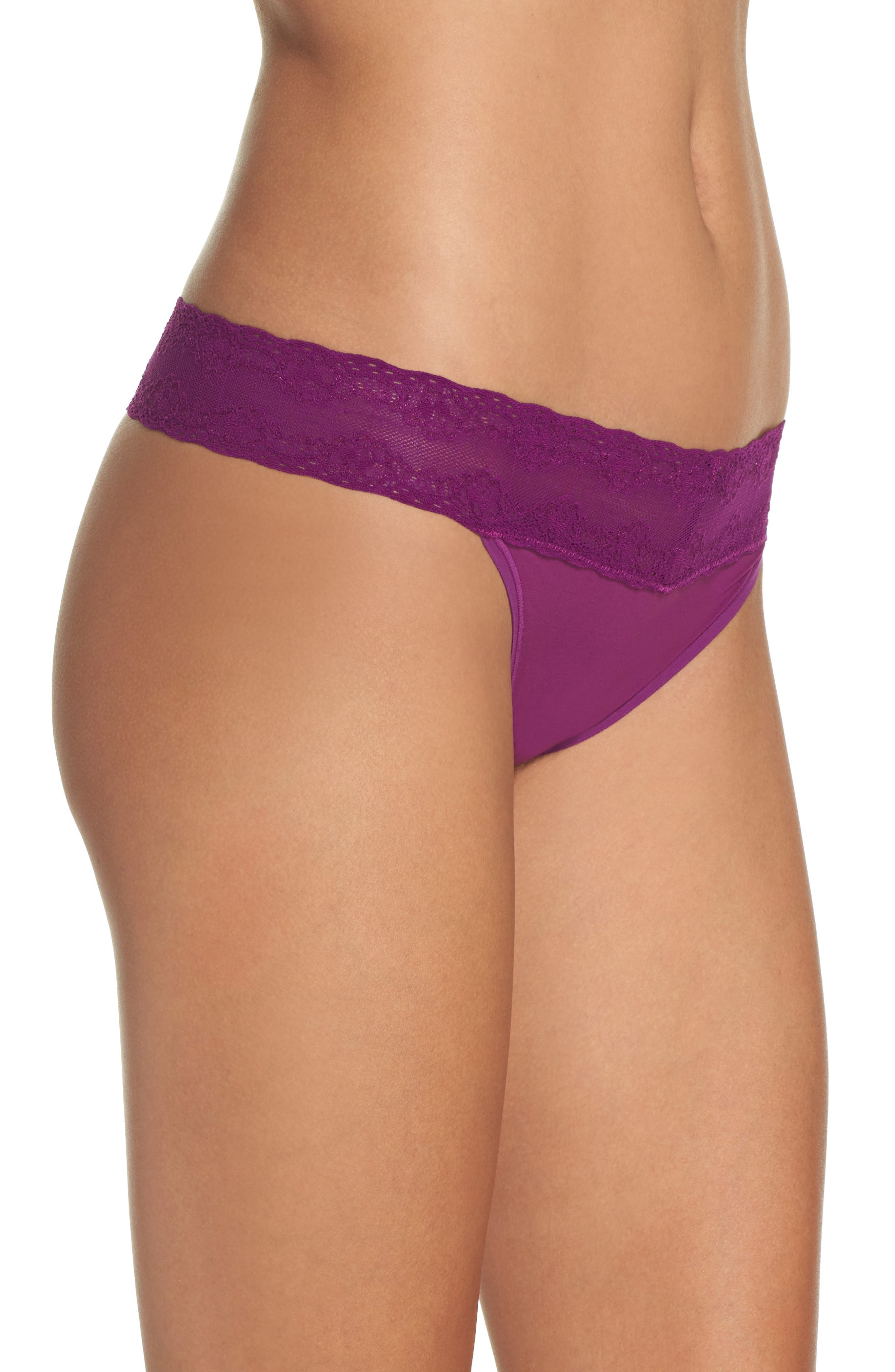 Bliss Perfection Thong,                             Alternate thumbnail 274, color,