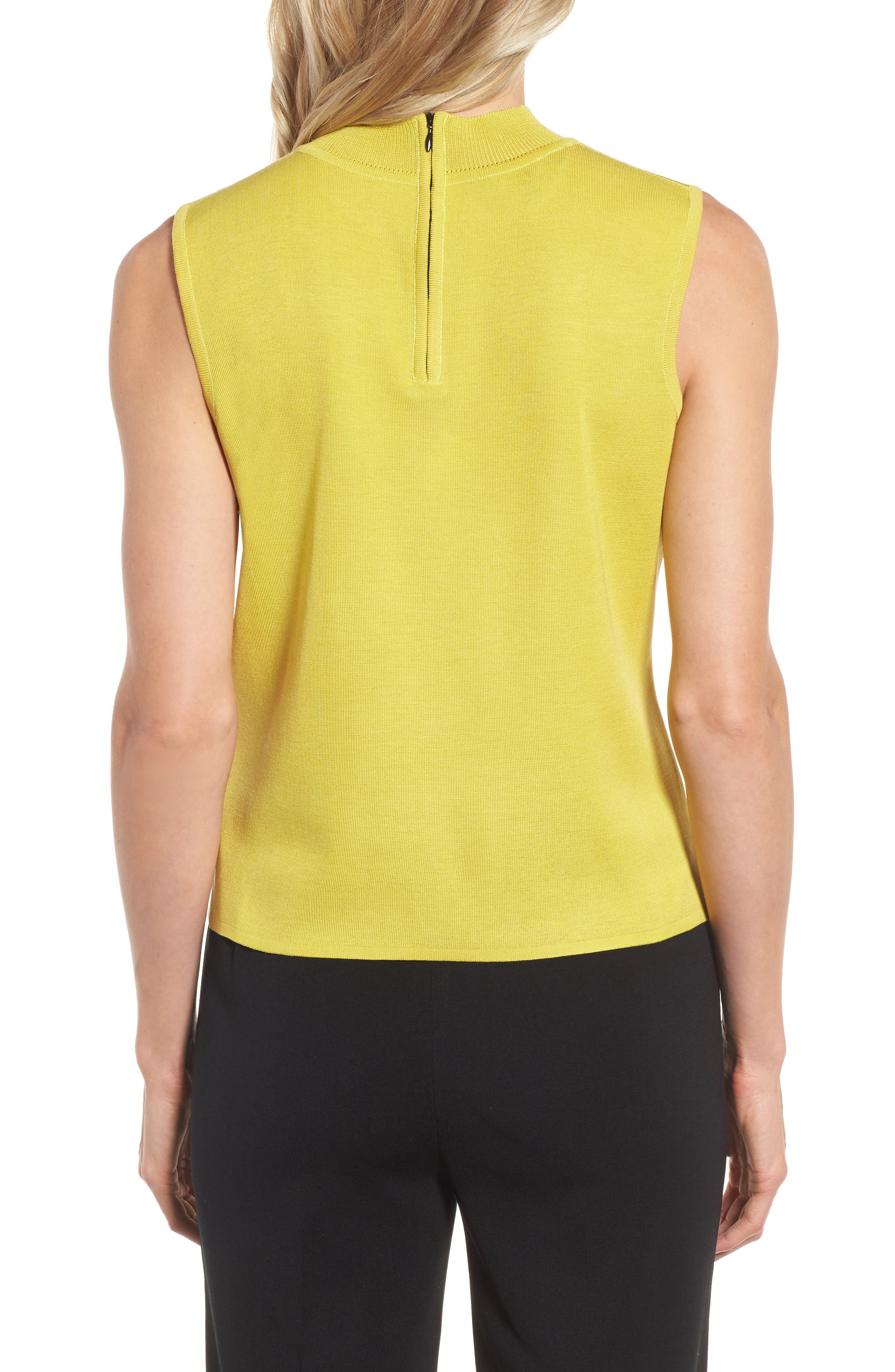 Mock Neck Knit Tank,                             Alternate thumbnail 2, color,                             720