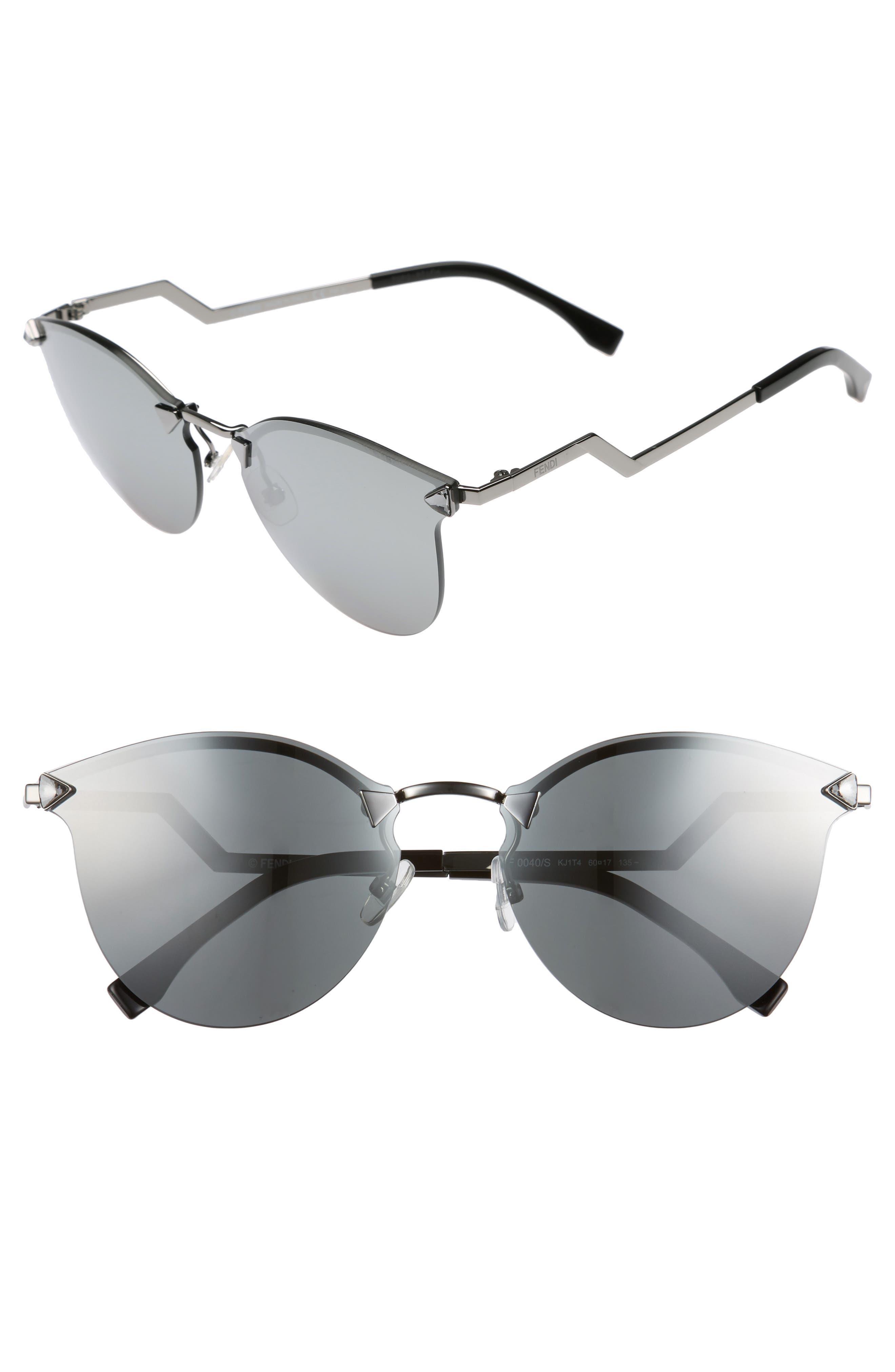 60mm Retro Sunglasses,                             Main thumbnail 1, color,                             045