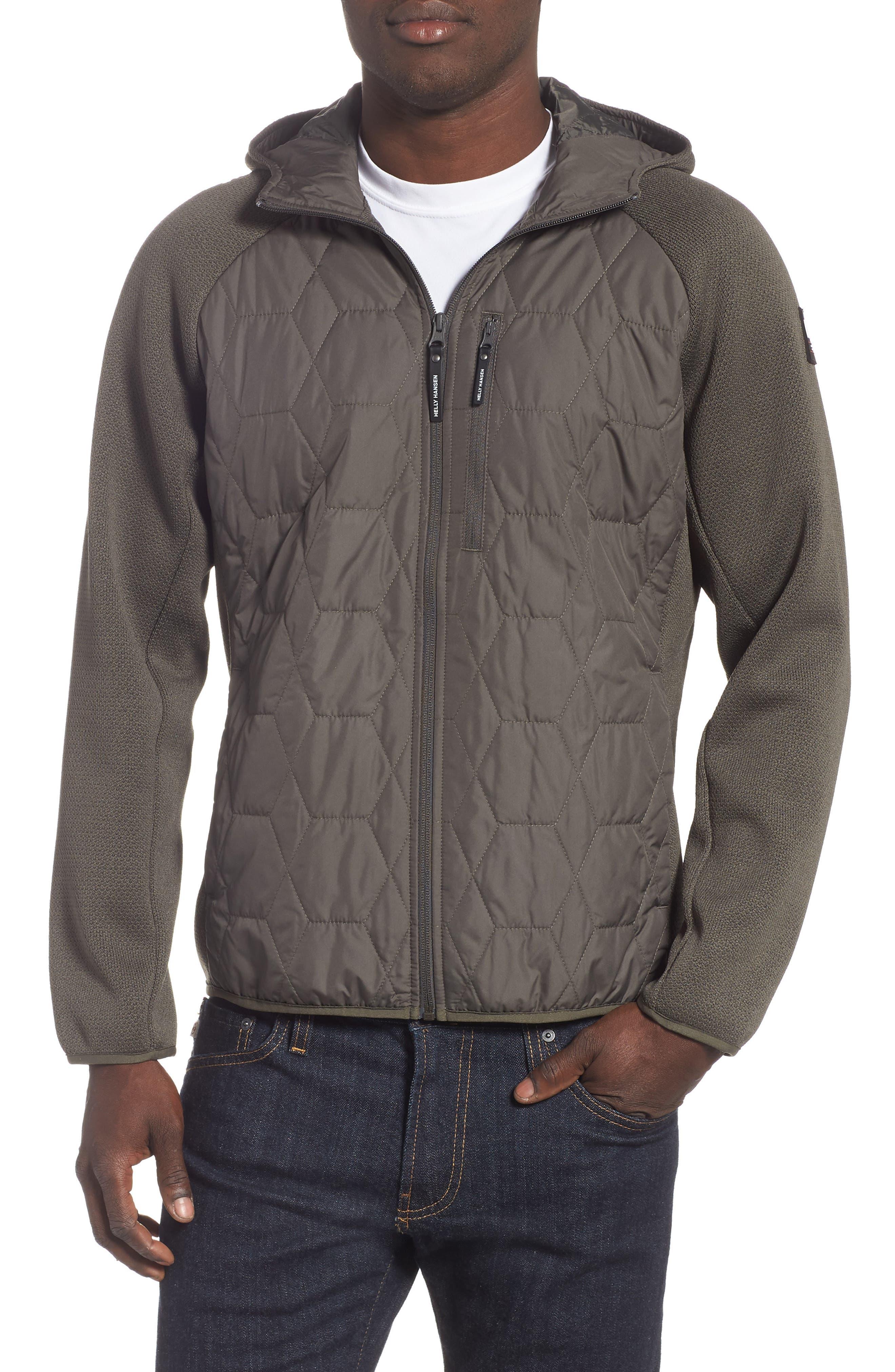 Shore Hybrid Insulator Jacket, Main, color, BELUGA