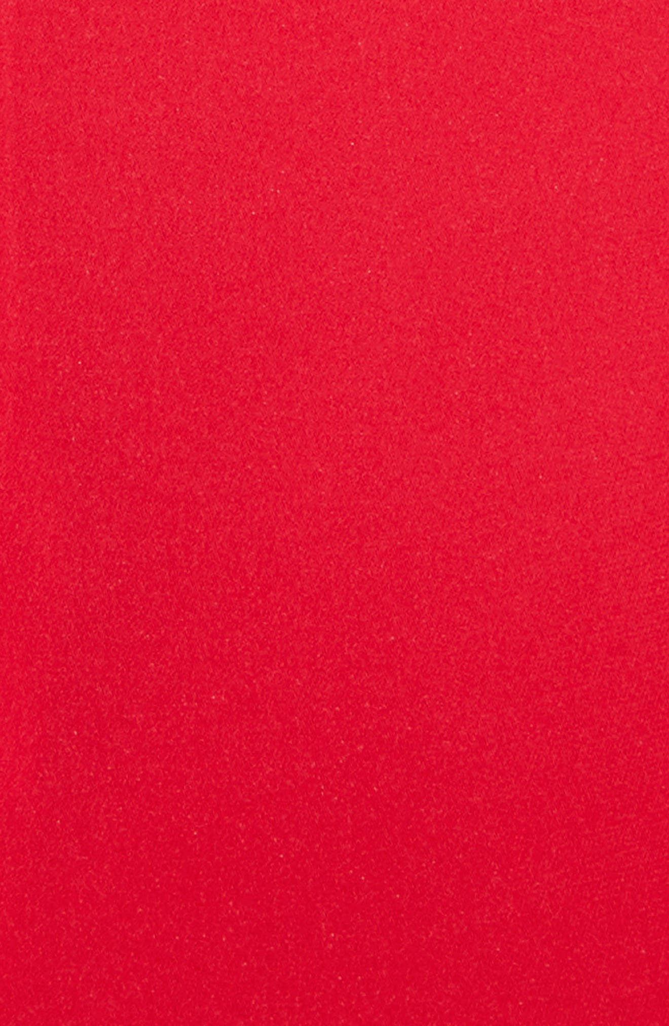 Kayla Deep V-Neck Stretch Silk Dress,                             Alternate thumbnail 8, color,