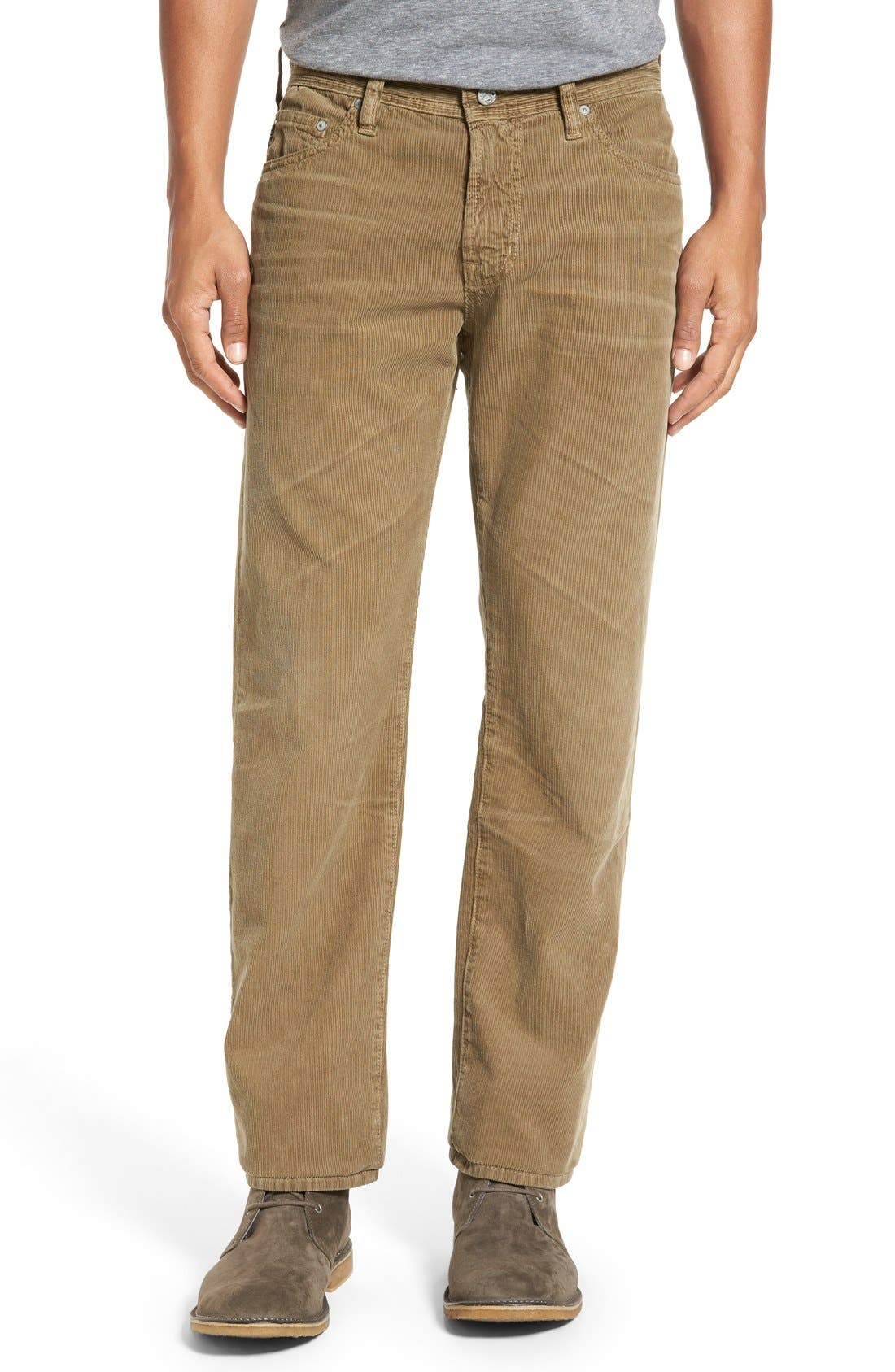 'Graduate' Tailored Straight Leg Corduroy Pants,                             Main thumbnail 10, color,