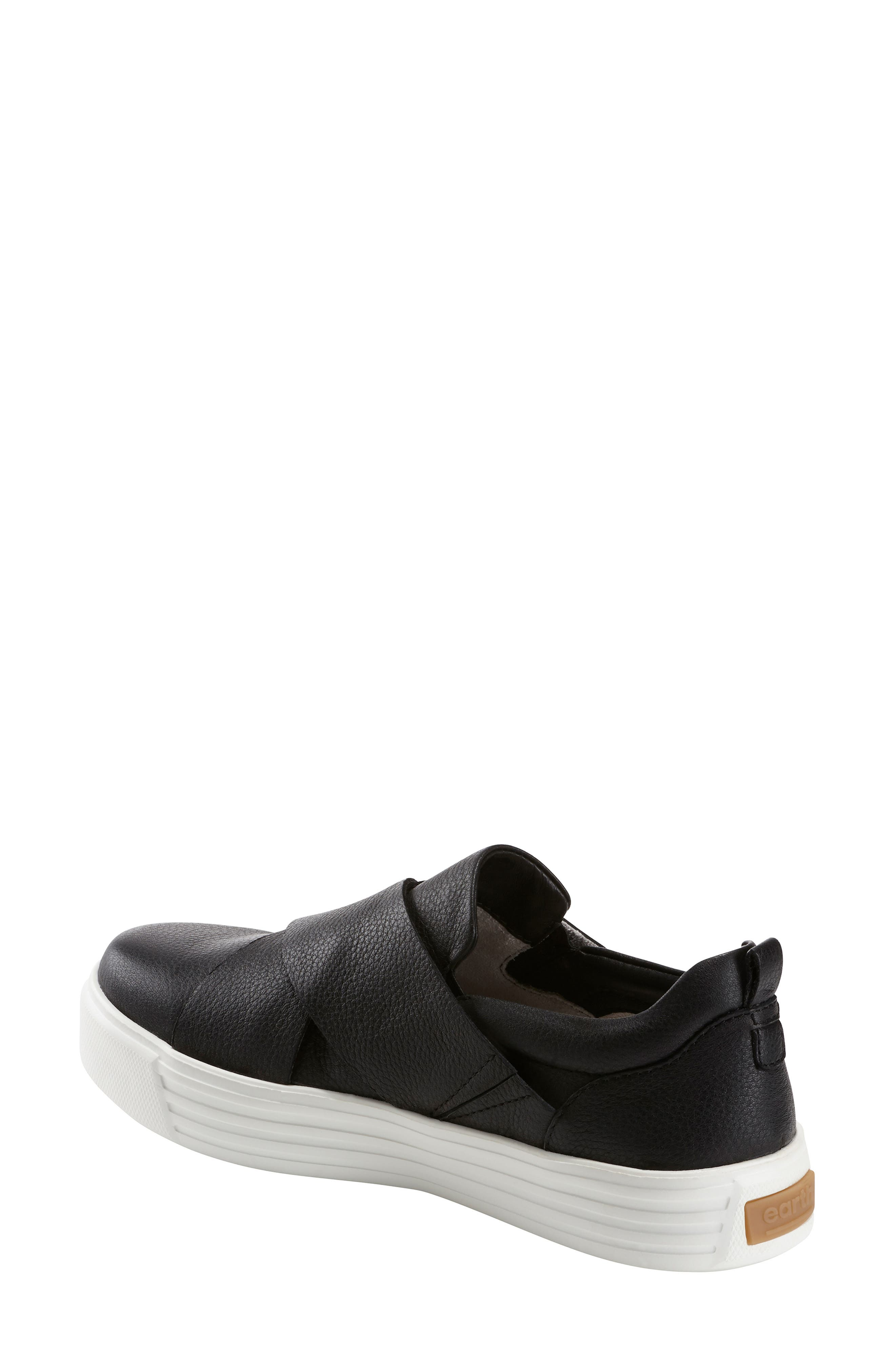 EARTH<SUP>®</SUP>,                             Clary Sneaker,                             Alternate thumbnail 2, color,                             BLACK LEATHER
