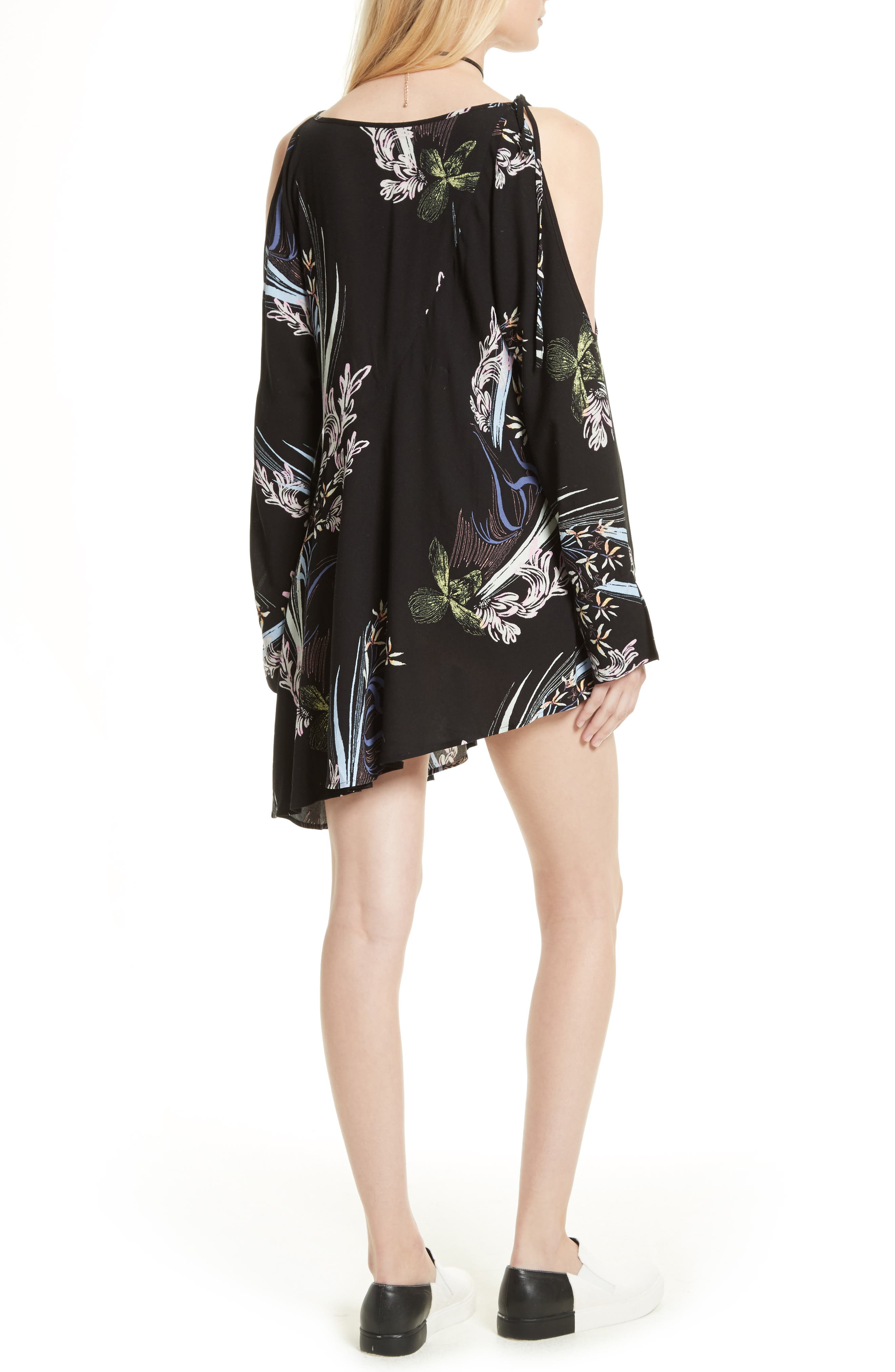 FREE PEOPLE,                             Clear Skies Cold Shoulder Tunic,                             Alternate thumbnail 2, color,                             001