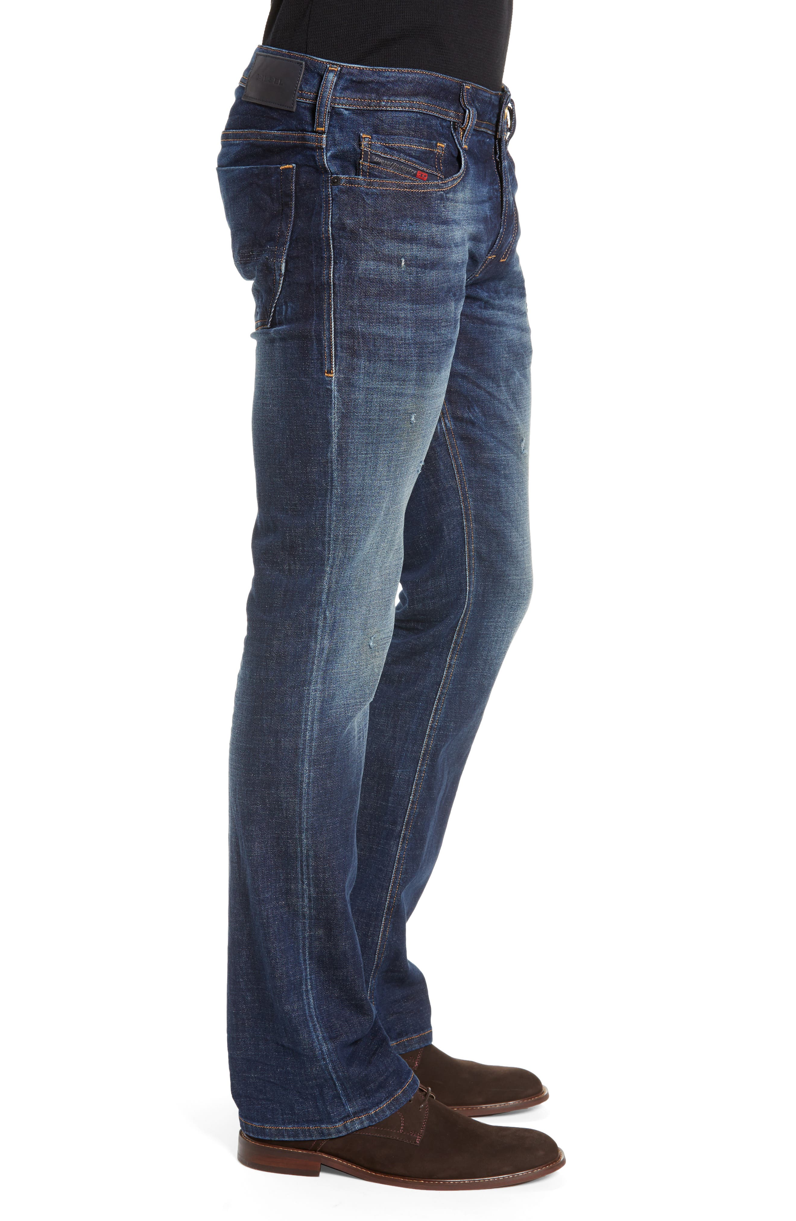 Zatiny Bootcut Jeans,                             Alternate thumbnail 3, color,                             087AT