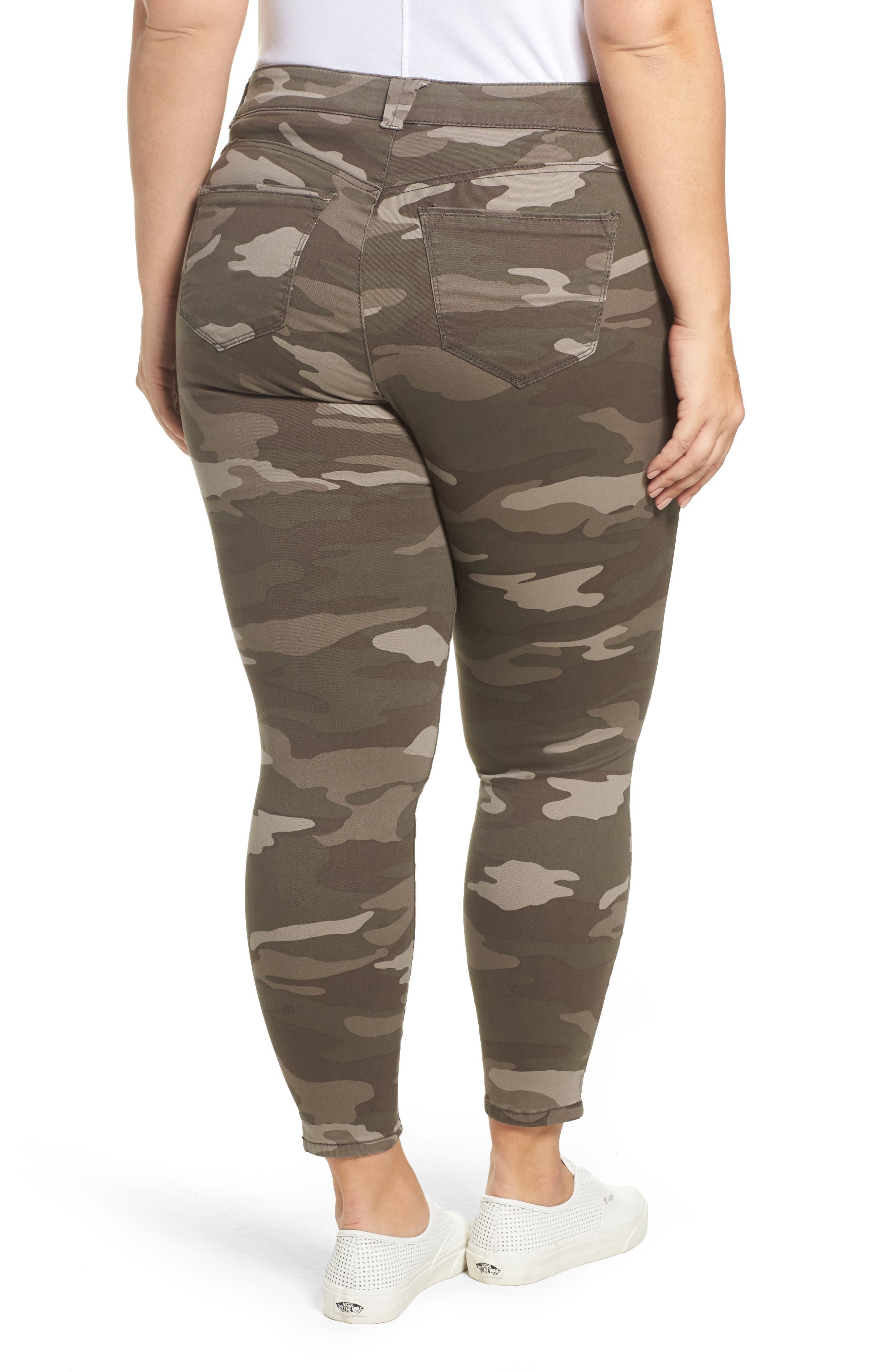 Ab-solution Camo Skinny Pants,                             Alternate thumbnail 2, color,                             250