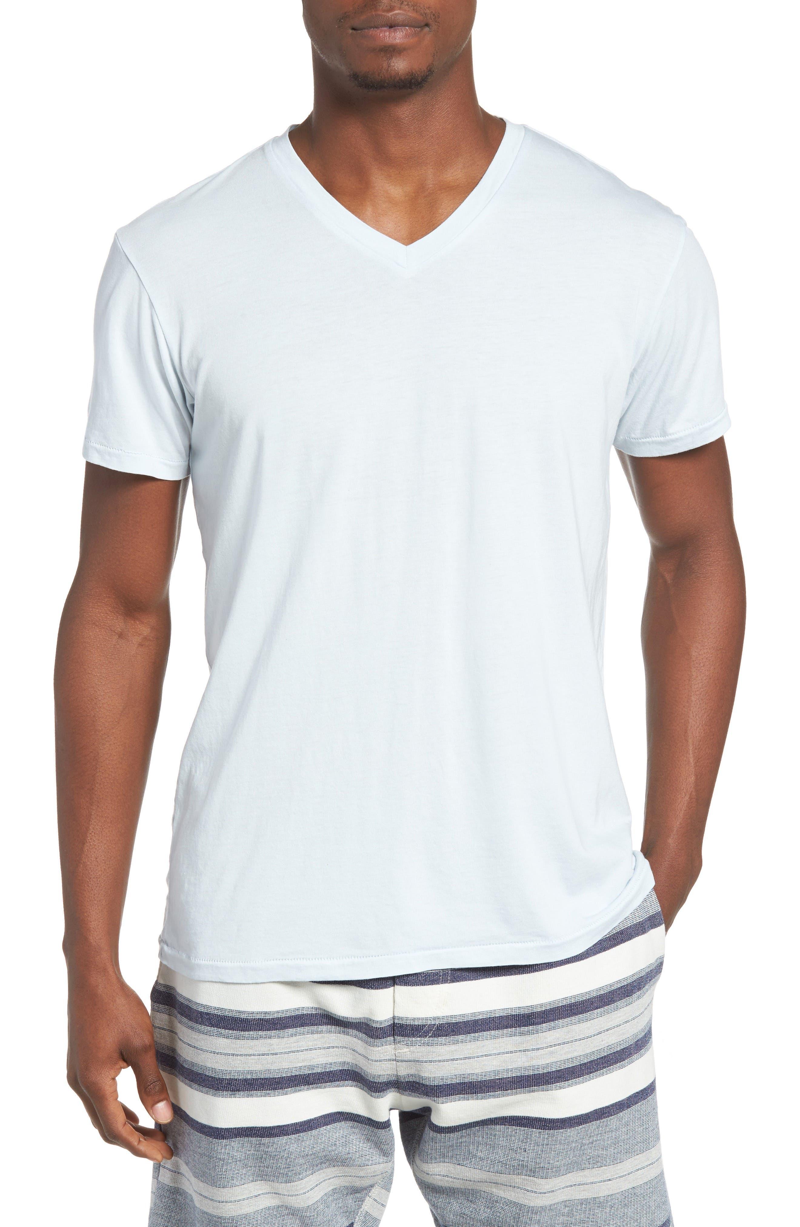 Essential V-Neck T-Shirt,                             Main thumbnail 9, color,