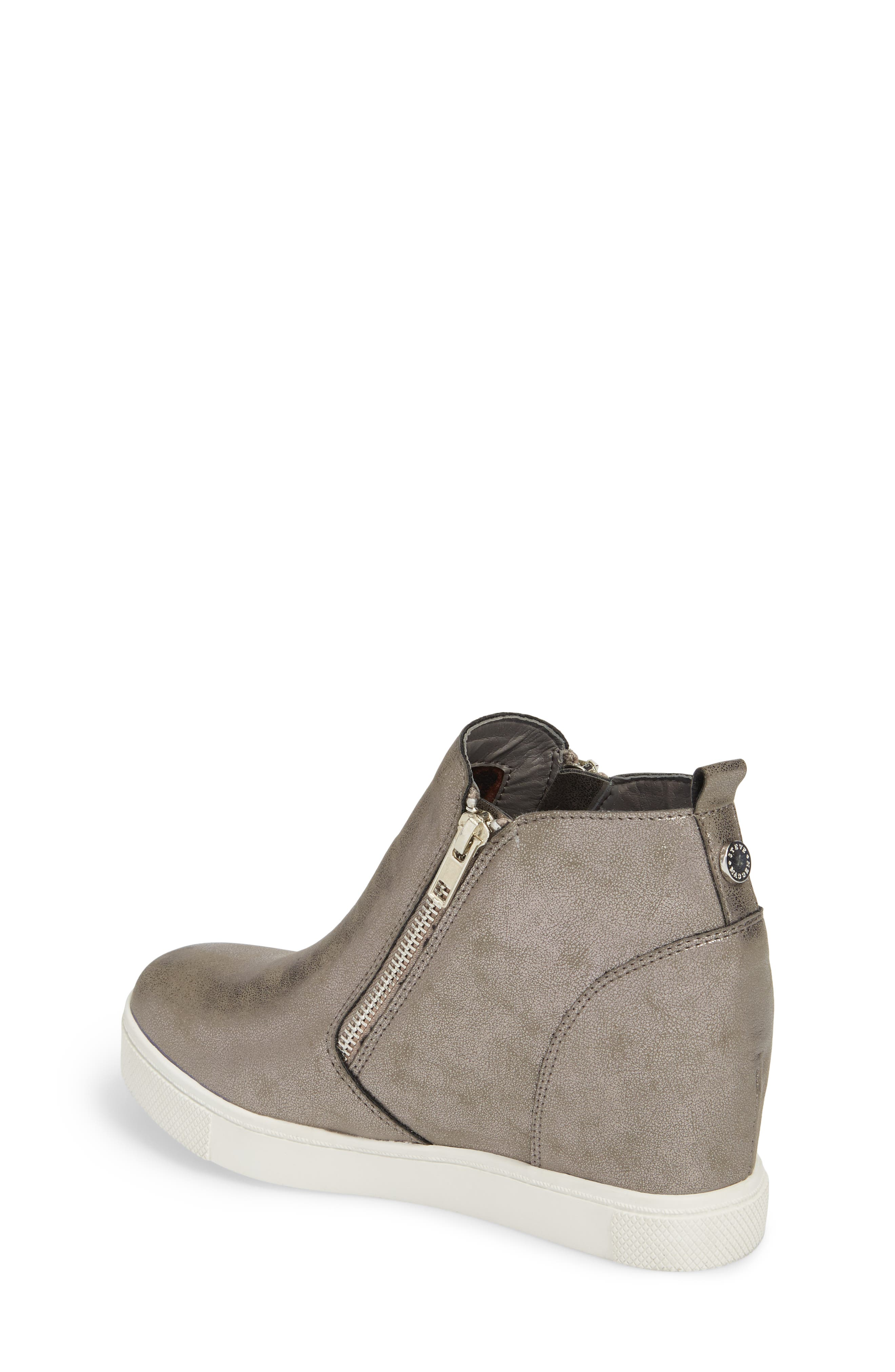 Wedgie Hidden Wedge Sneaker,                             Alternate thumbnail 2, color,                             GREY
