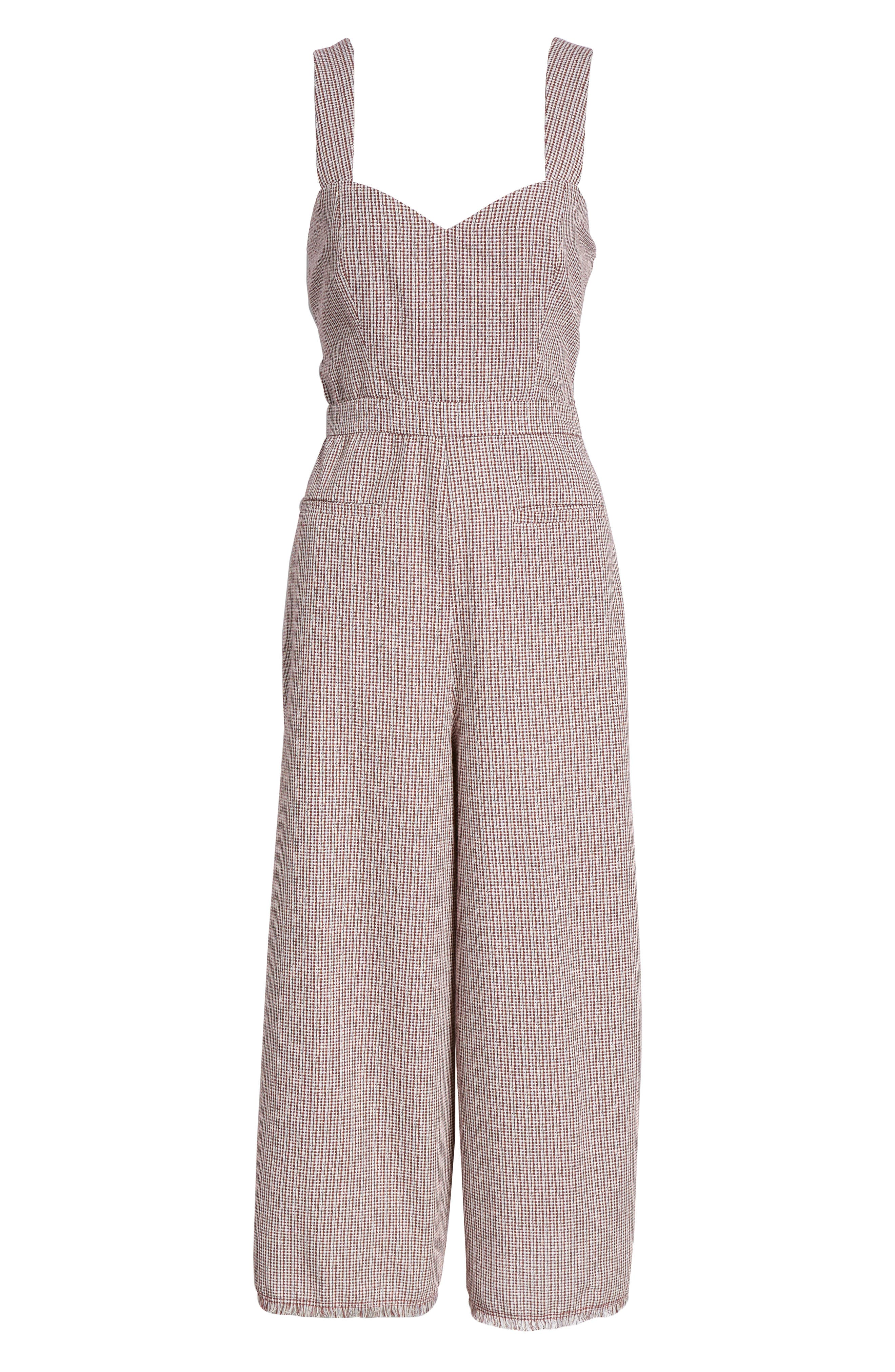 THE EAST ORDER,                             Portia Sleeveless Jumpsuit,                             Alternate thumbnail 7, color,                             934