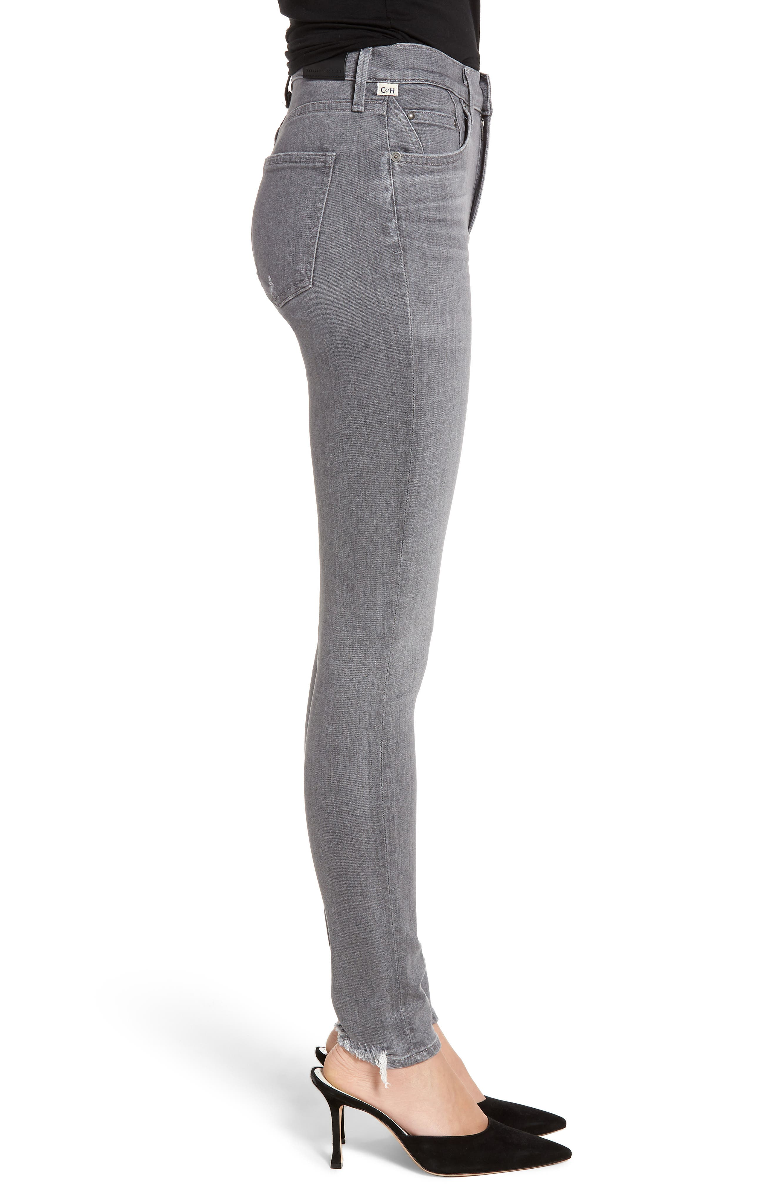 CITIZENS OF HUMANITY,                             Rocket High Waist Skinny Jeans,                             Alternate thumbnail 3, color,                             STATUETTE
