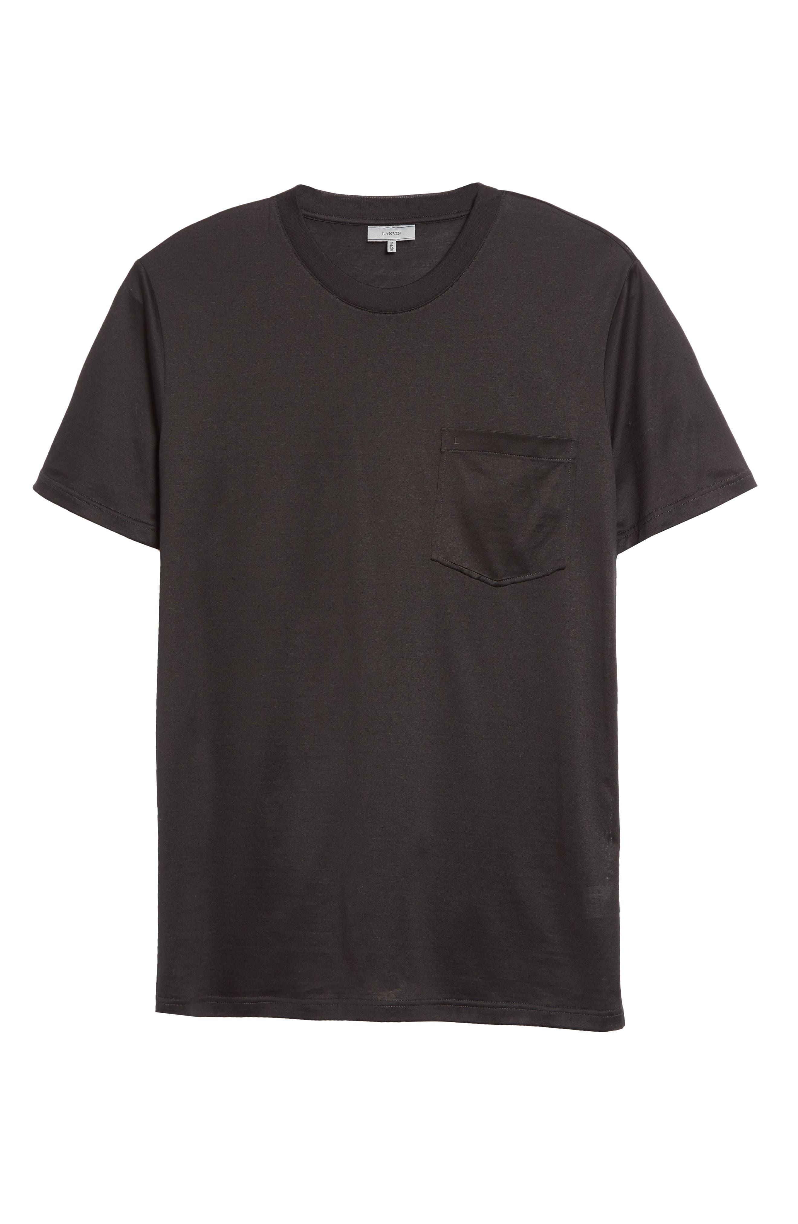L Pocket T-Shirt,                             Alternate thumbnail 6, color,                             001