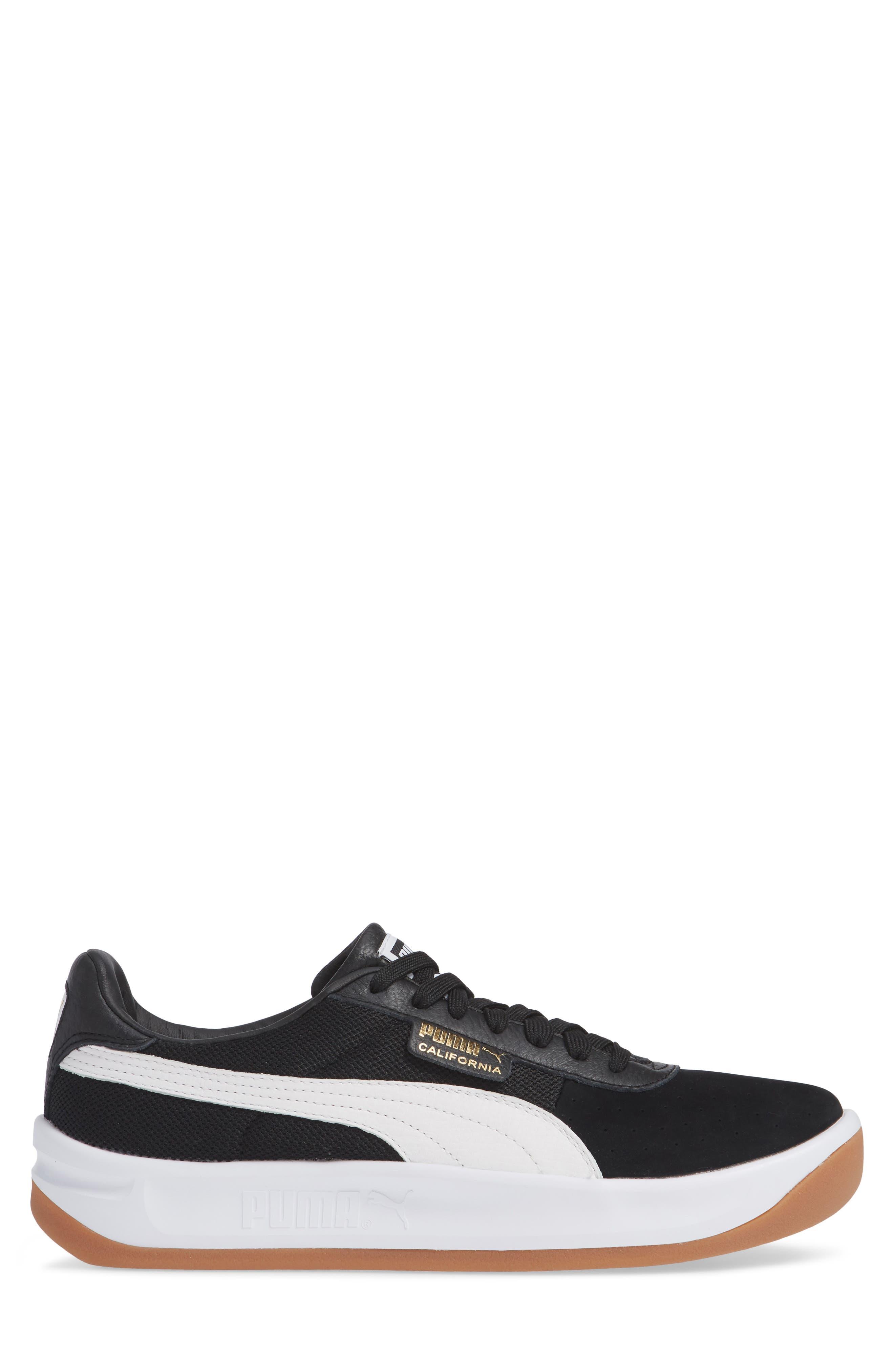 PUMA,                             California Casual Sneaker,                             Alternate thumbnail 3, color,                             001