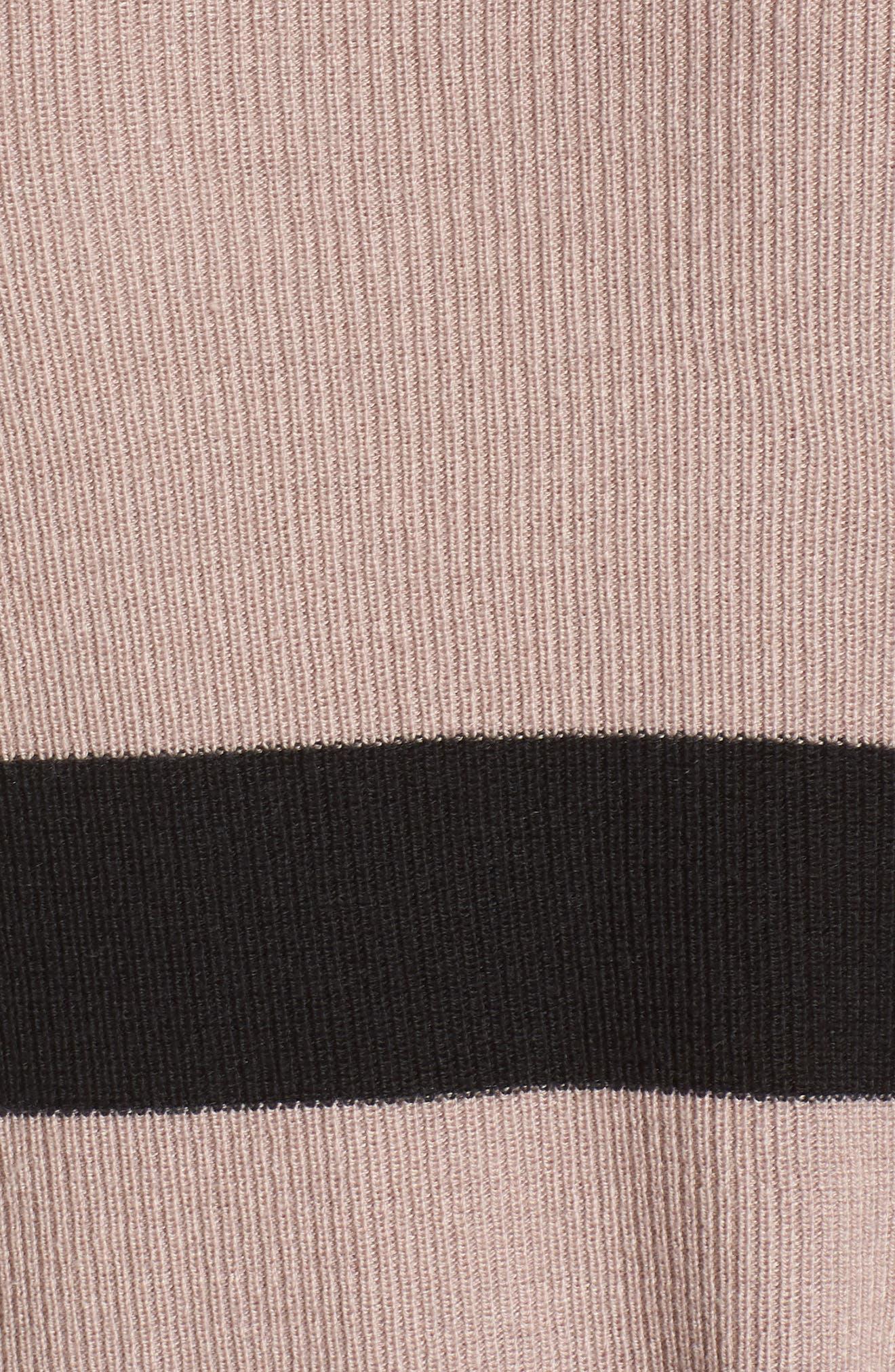 Varsity Stripe Sweater,                             Alternate thumbnail 5, color,                             030