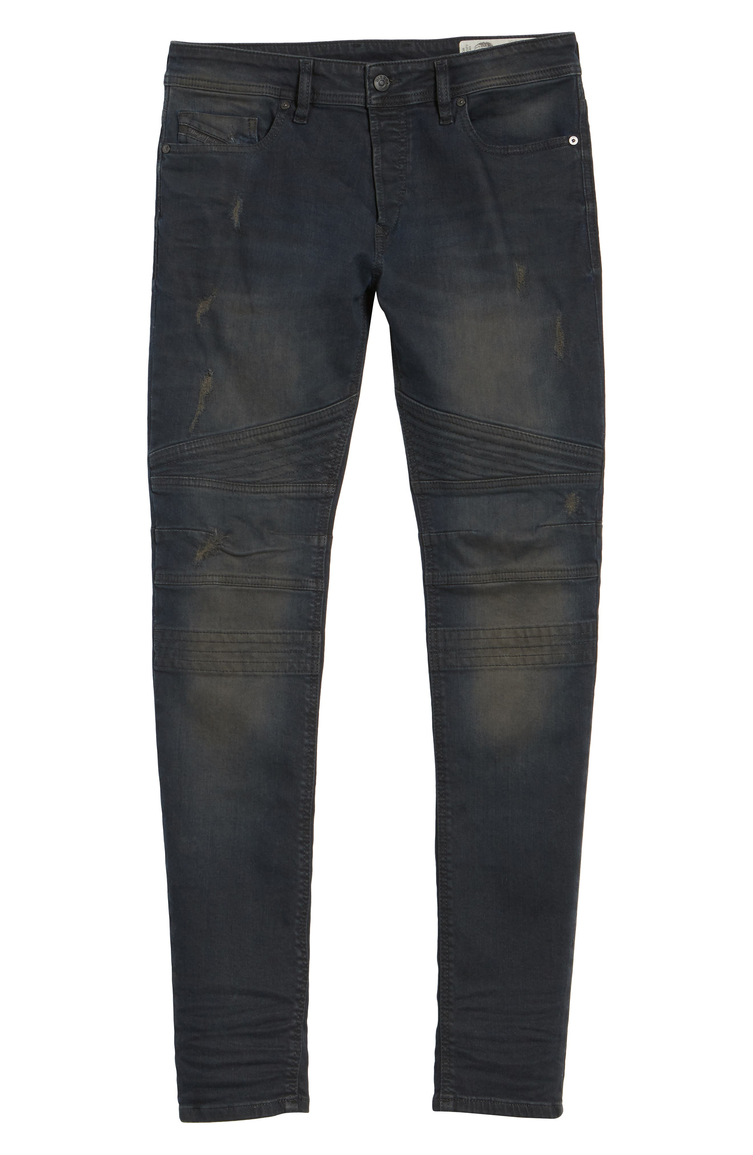 Fourk Skinny Fit Jeans,                             Alternate thumbnail 6, color,