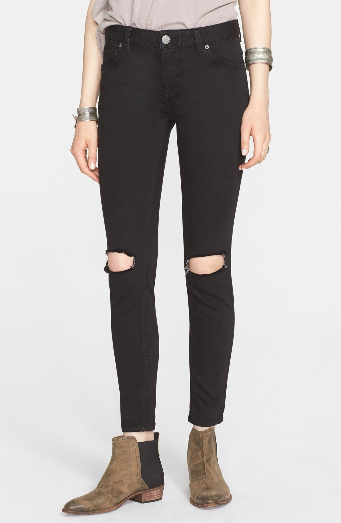 Ripped Jeans, Main, color, 001