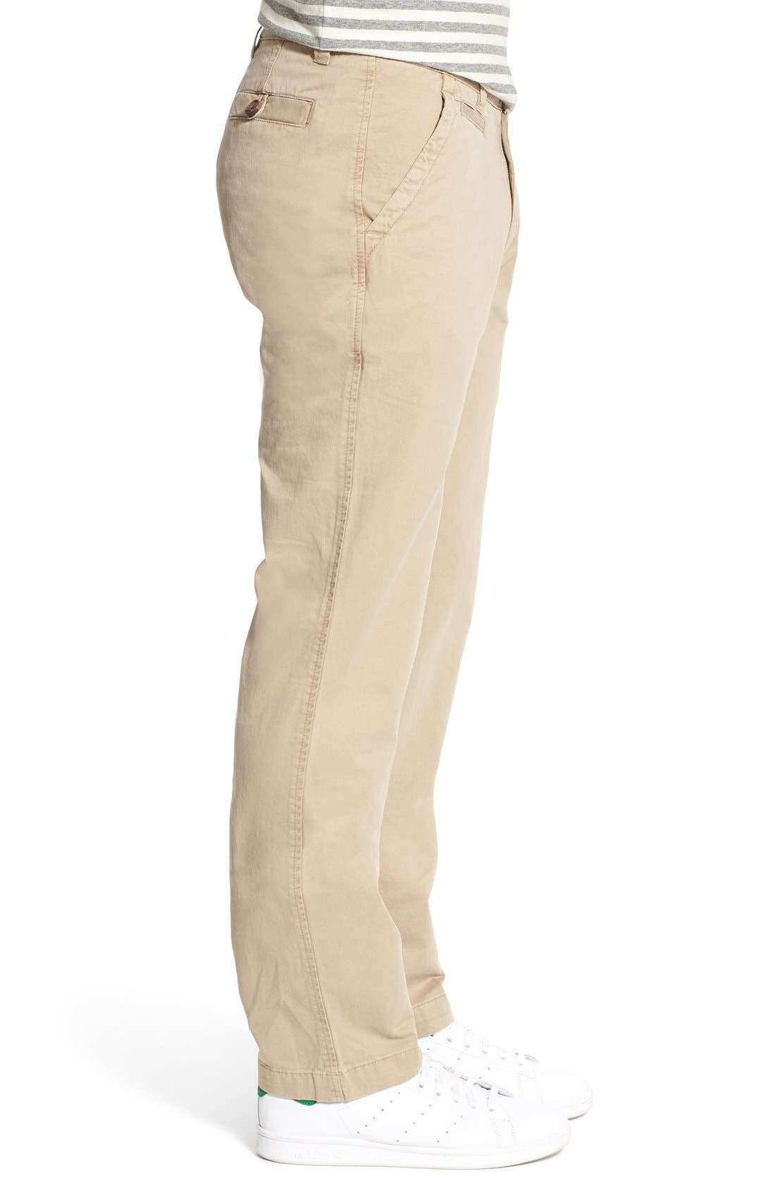 'Sahara' Trim Fit Vintage Washed Twill Chinos,                             Alternate thumbnail 20, color,