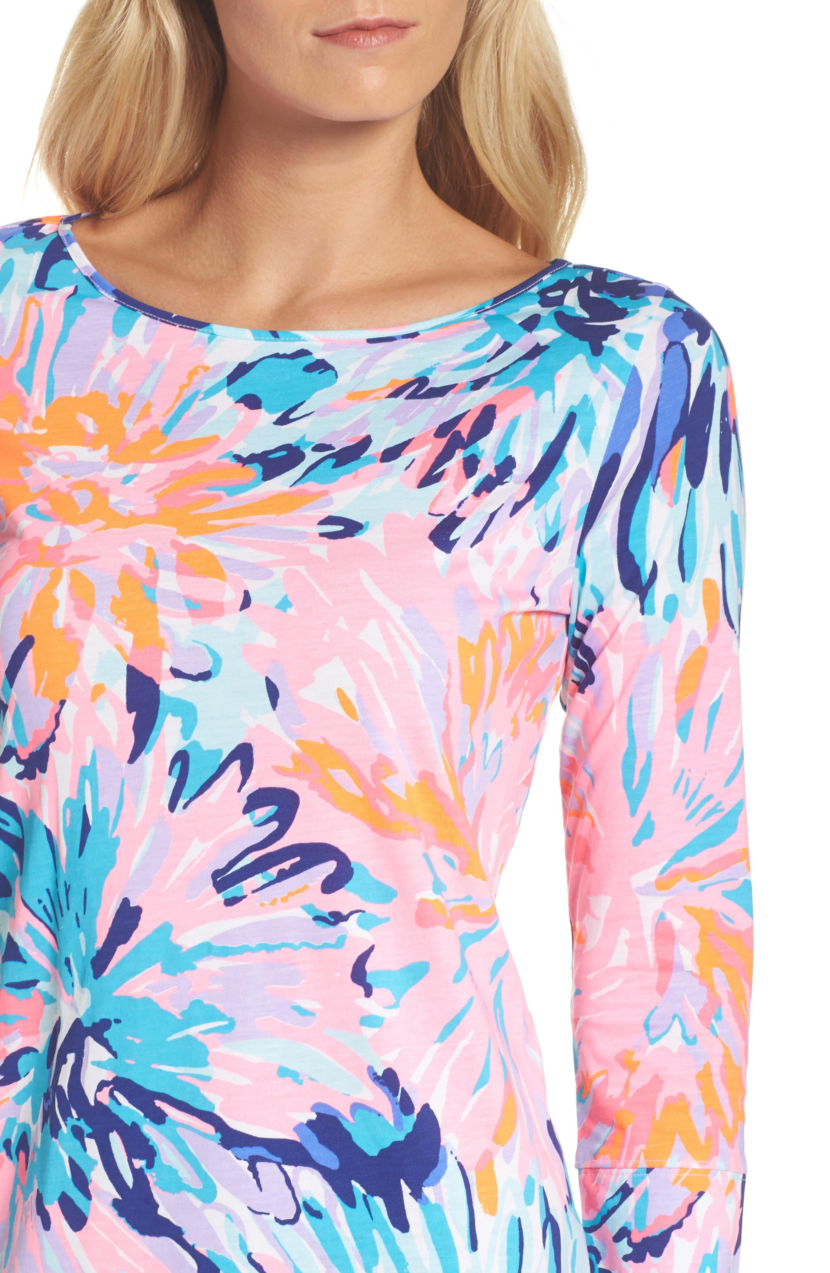 Marlowe T-Shirt Dress,                             Alternate thumbnail 4, color,                             651