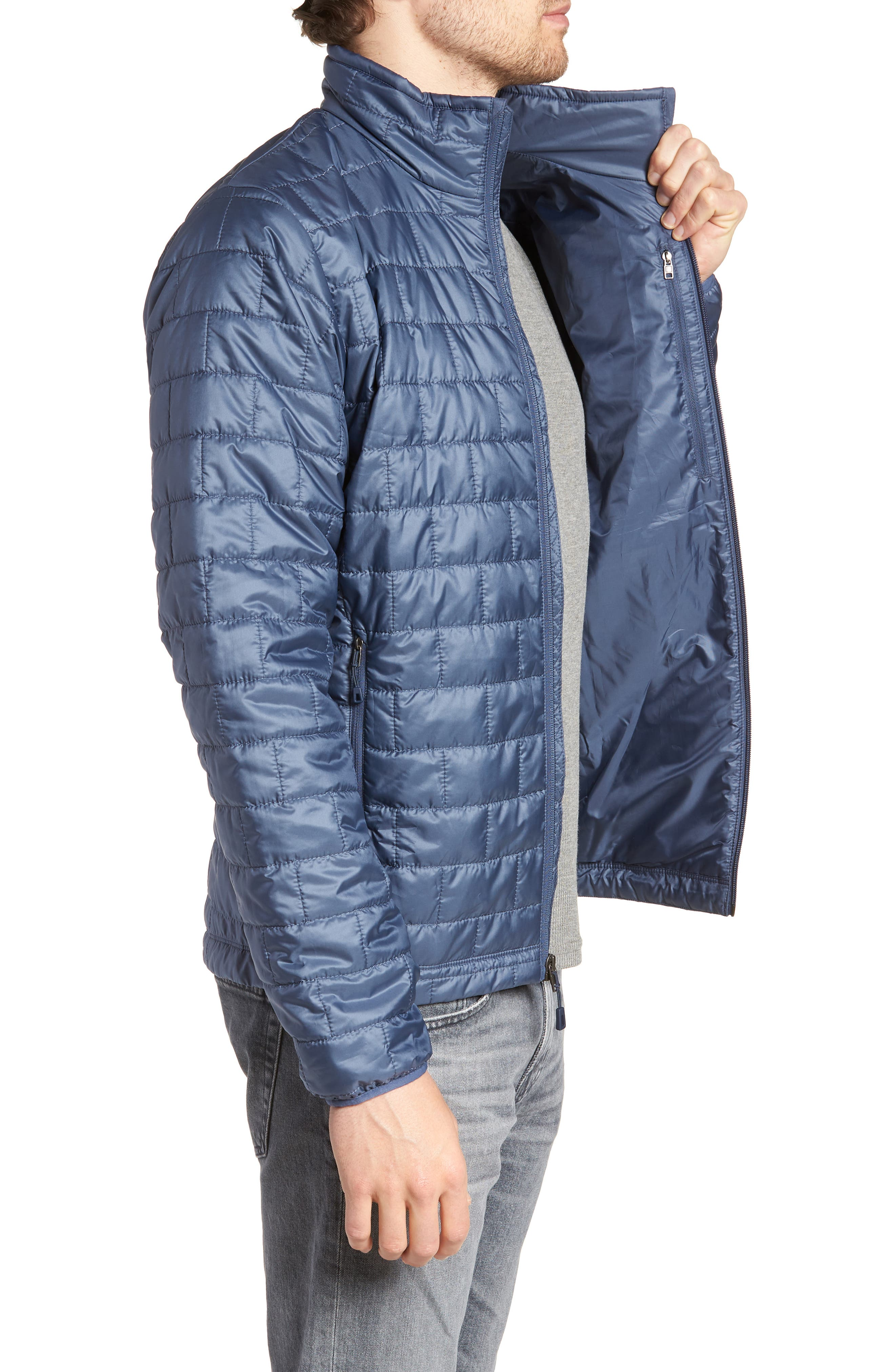 'Nano Puff<sup>®</sup>' Water Resistant Jacket,                             Alternate thumbnail 3, color,                             DOLOMITE BLUE