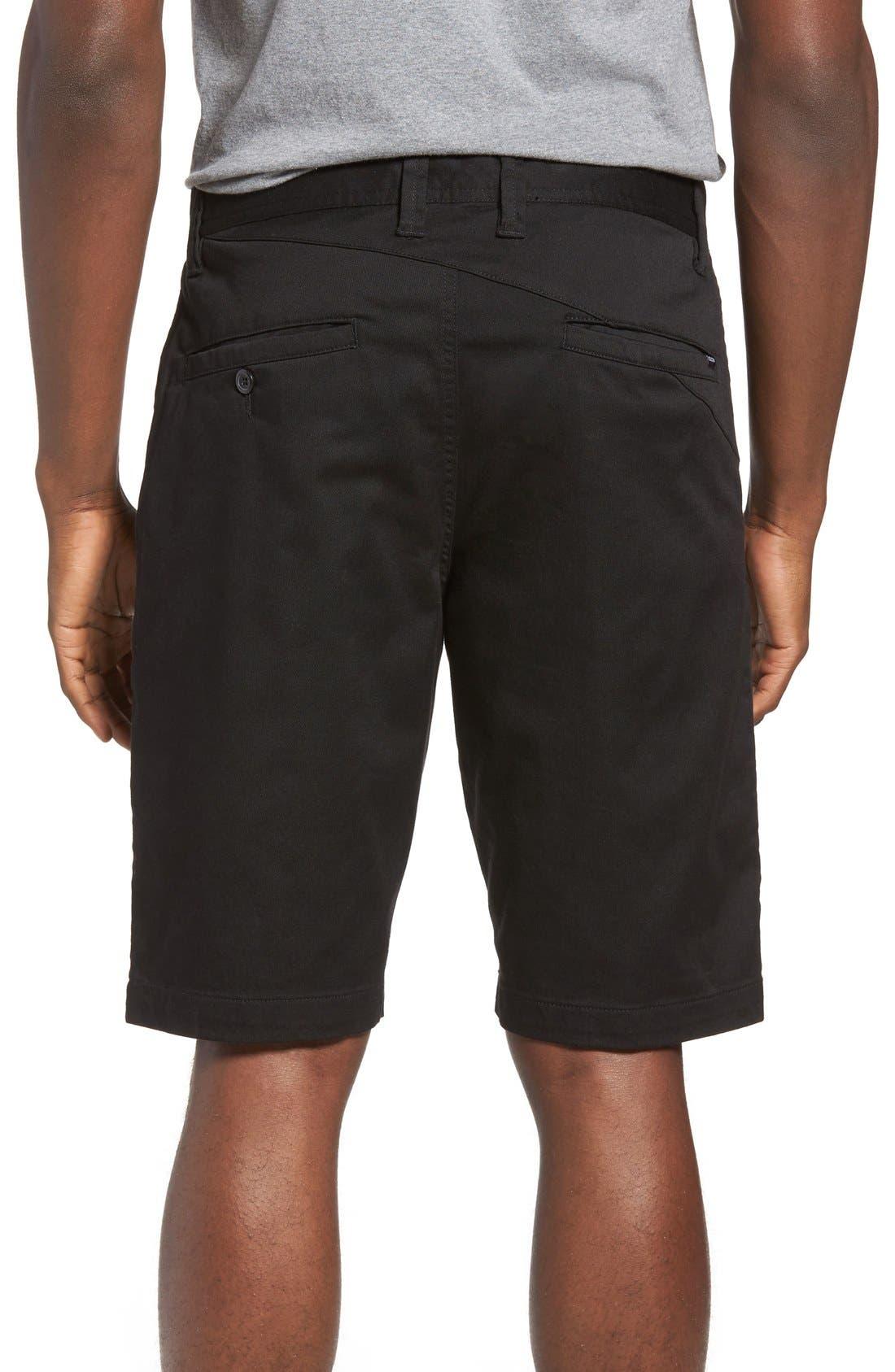 'Modern' Stretch Chino Shorts,                             Alternate thumbnail 25, color,