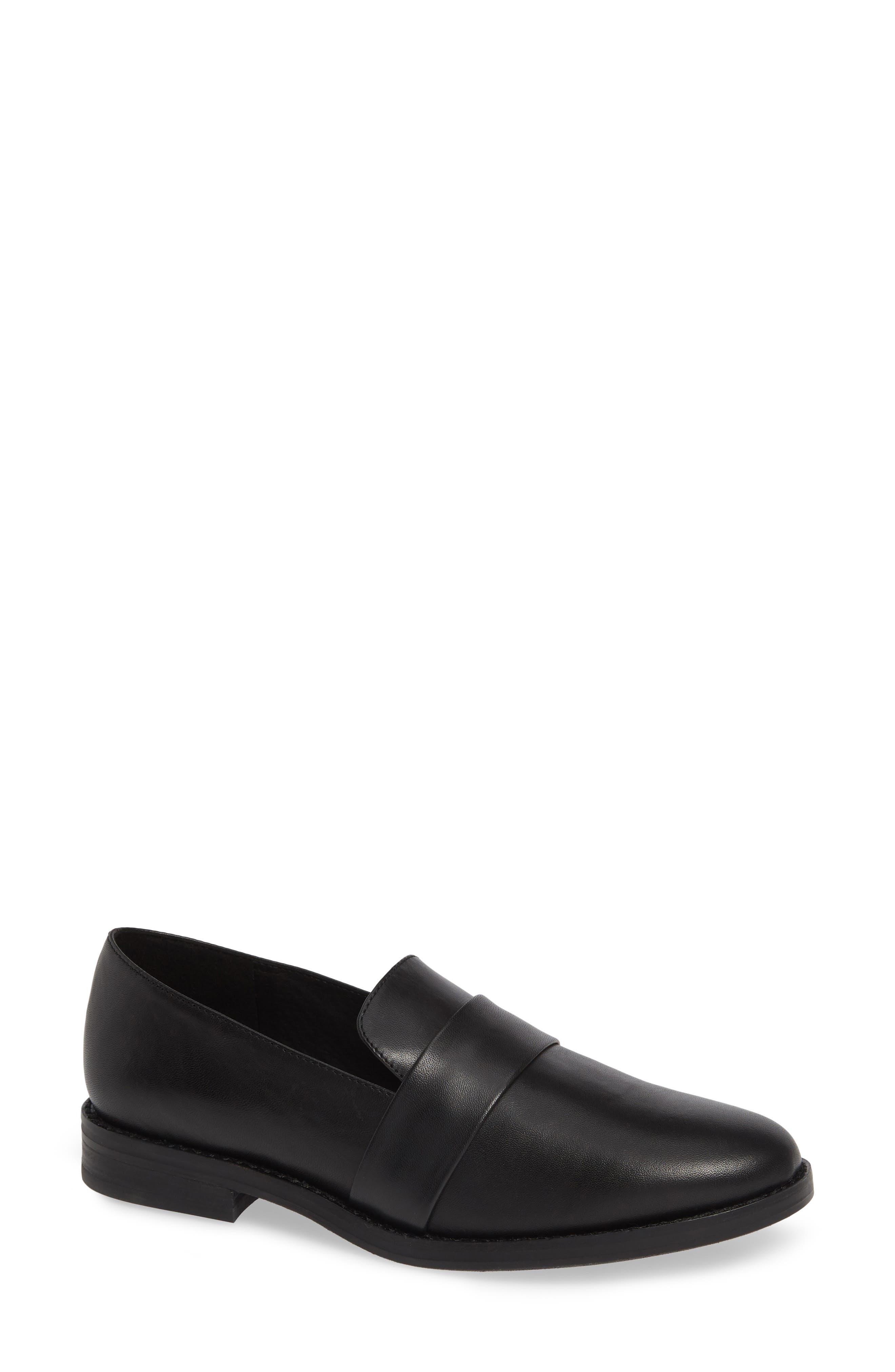 Hayes Loafer in Black Leather