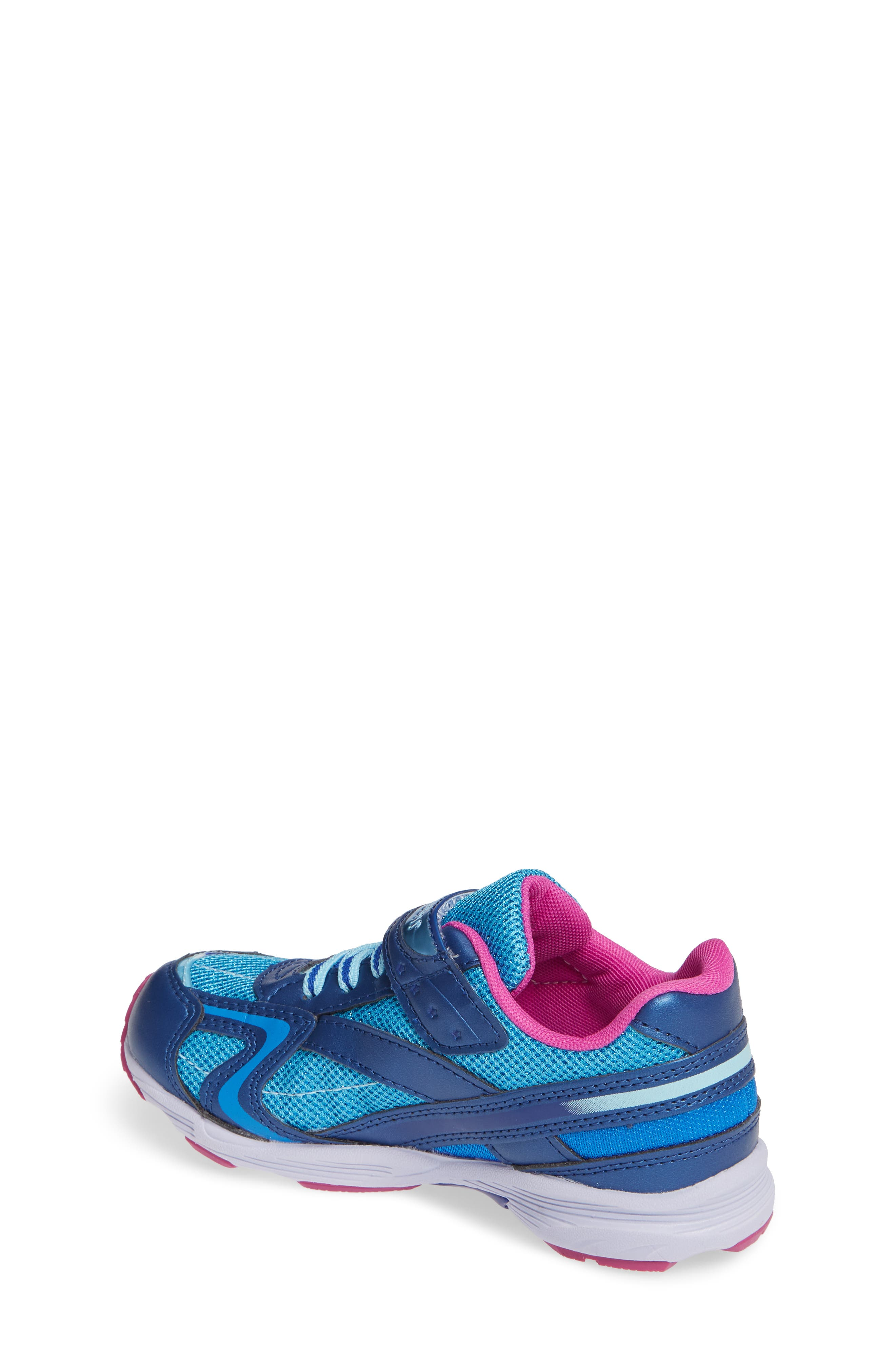 Glitz Washable Sneaker,                             Alternate thumbnail 2, color,                             NAVY/ BERRY