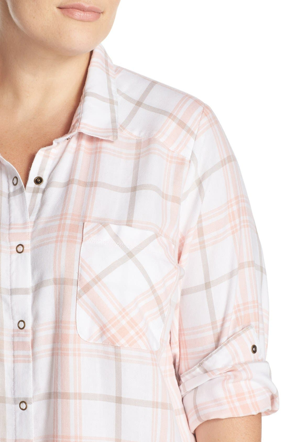 Plaid Night Shirt,                             Alternate thumbnail 12, color,