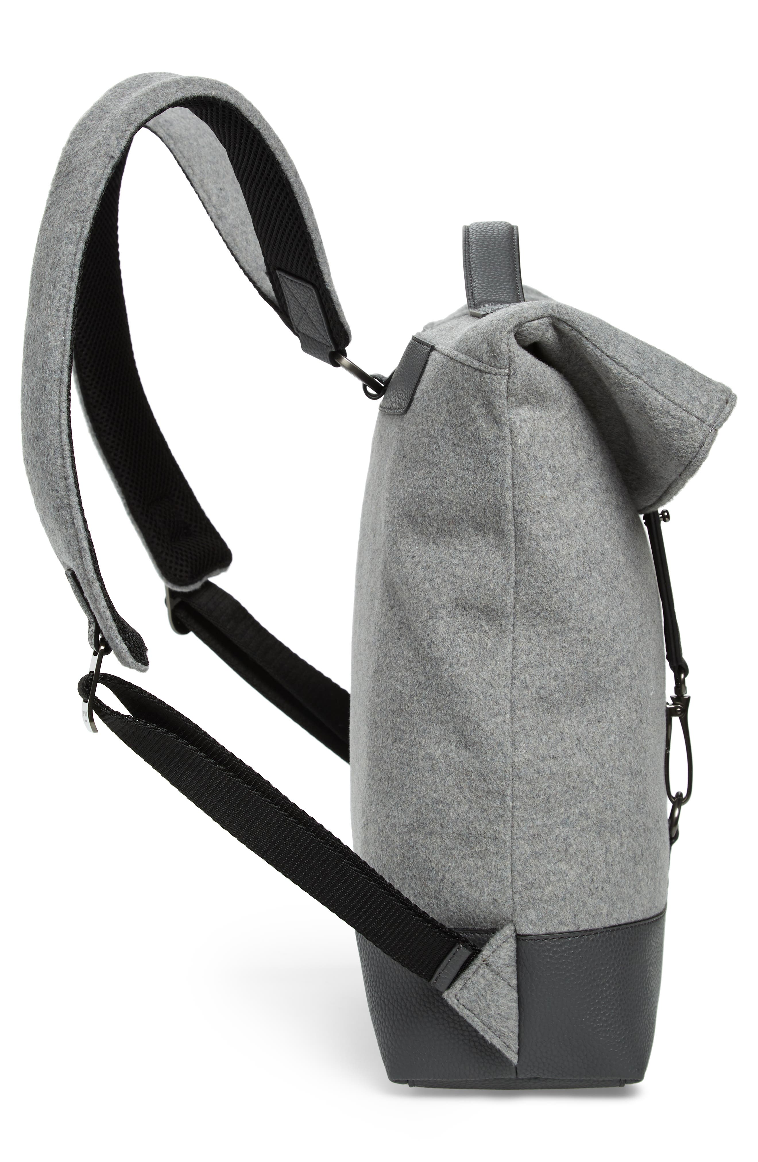 Cashed Backpack,                             Alternate thumbnail 5, color,                             GREY