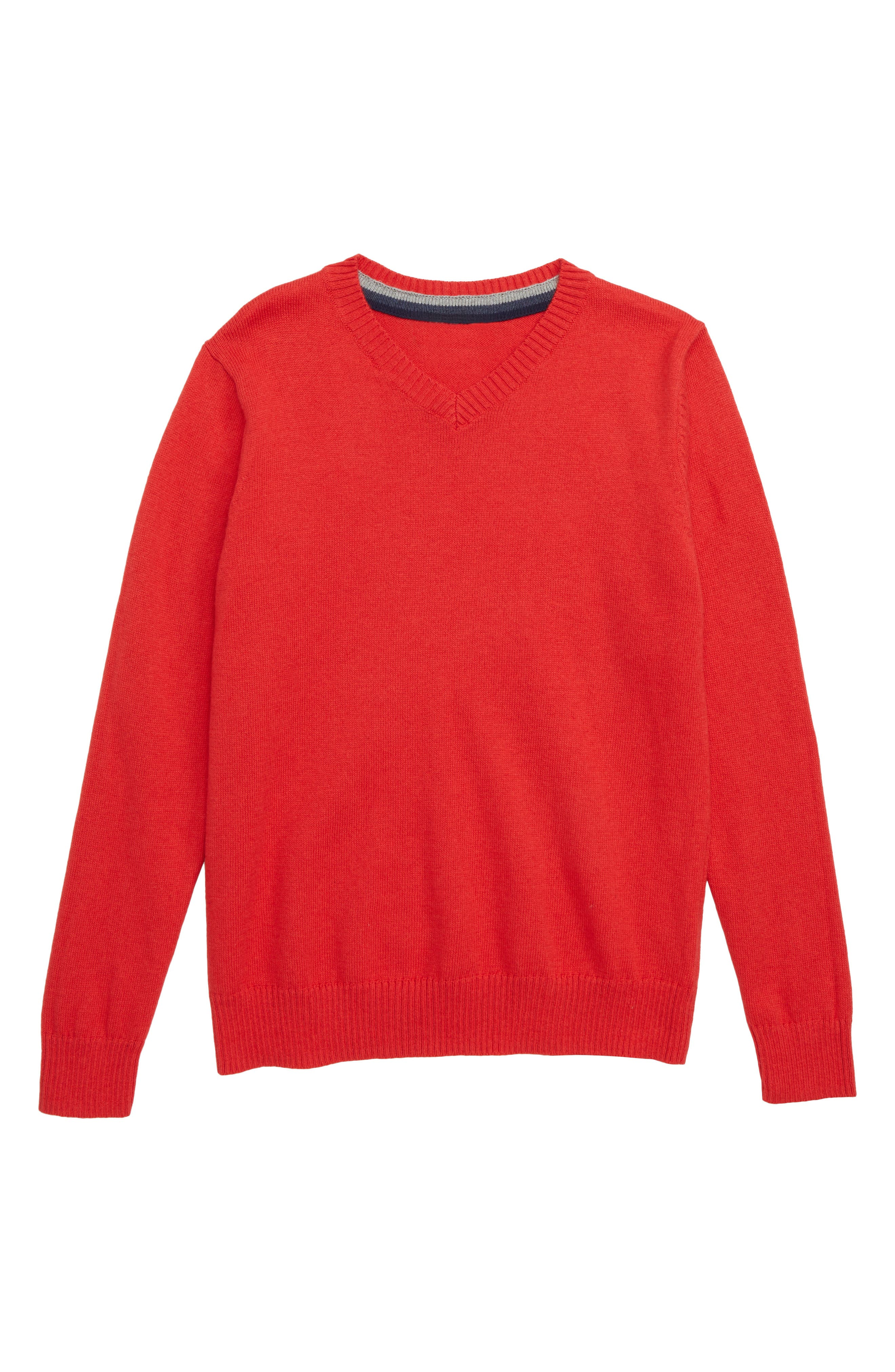 Boys Tucker  Tate VNeck Sweater Size XL (1416)  Red