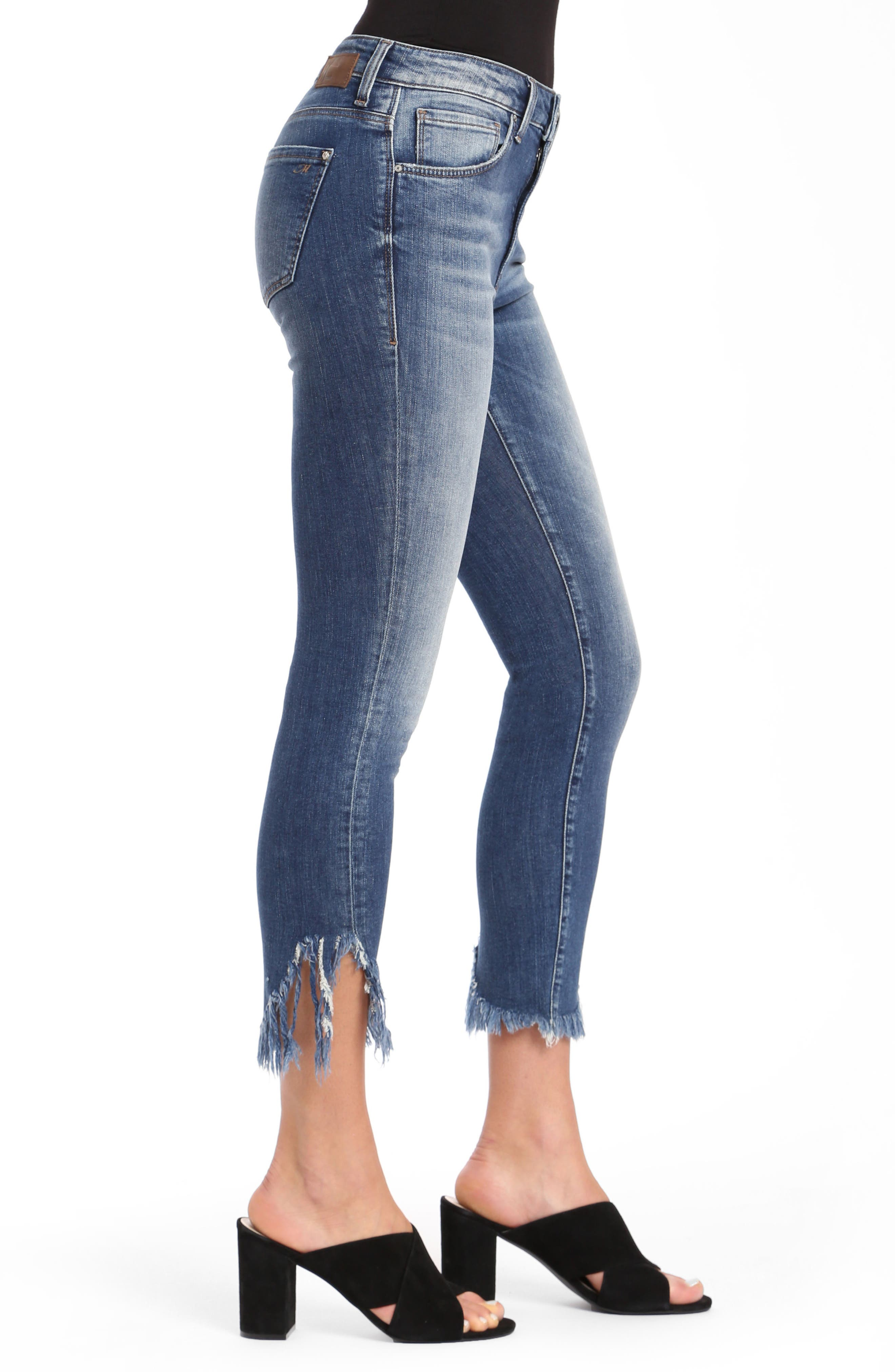 Tess Extreme Ripped Super Skinny Jeans,                             Alternate thumbnail 3, color,                             EXTREME RIPPED VINTAGE