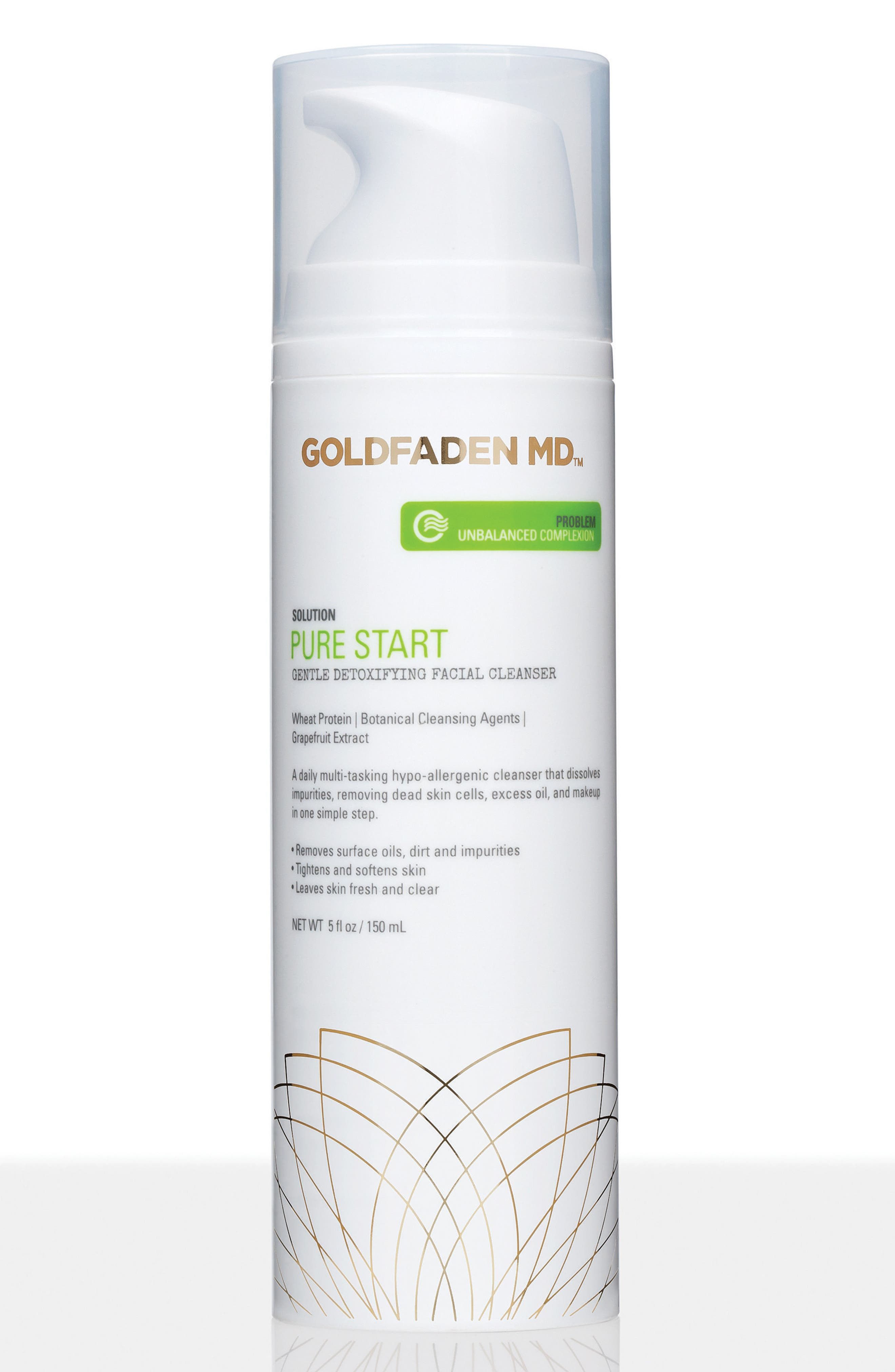 SPACE.NK.apothecary Goldfaden MD Pure Start Gentle Detoxifying Facial Cleanser,                             Main thumbnail 1, color,                             000