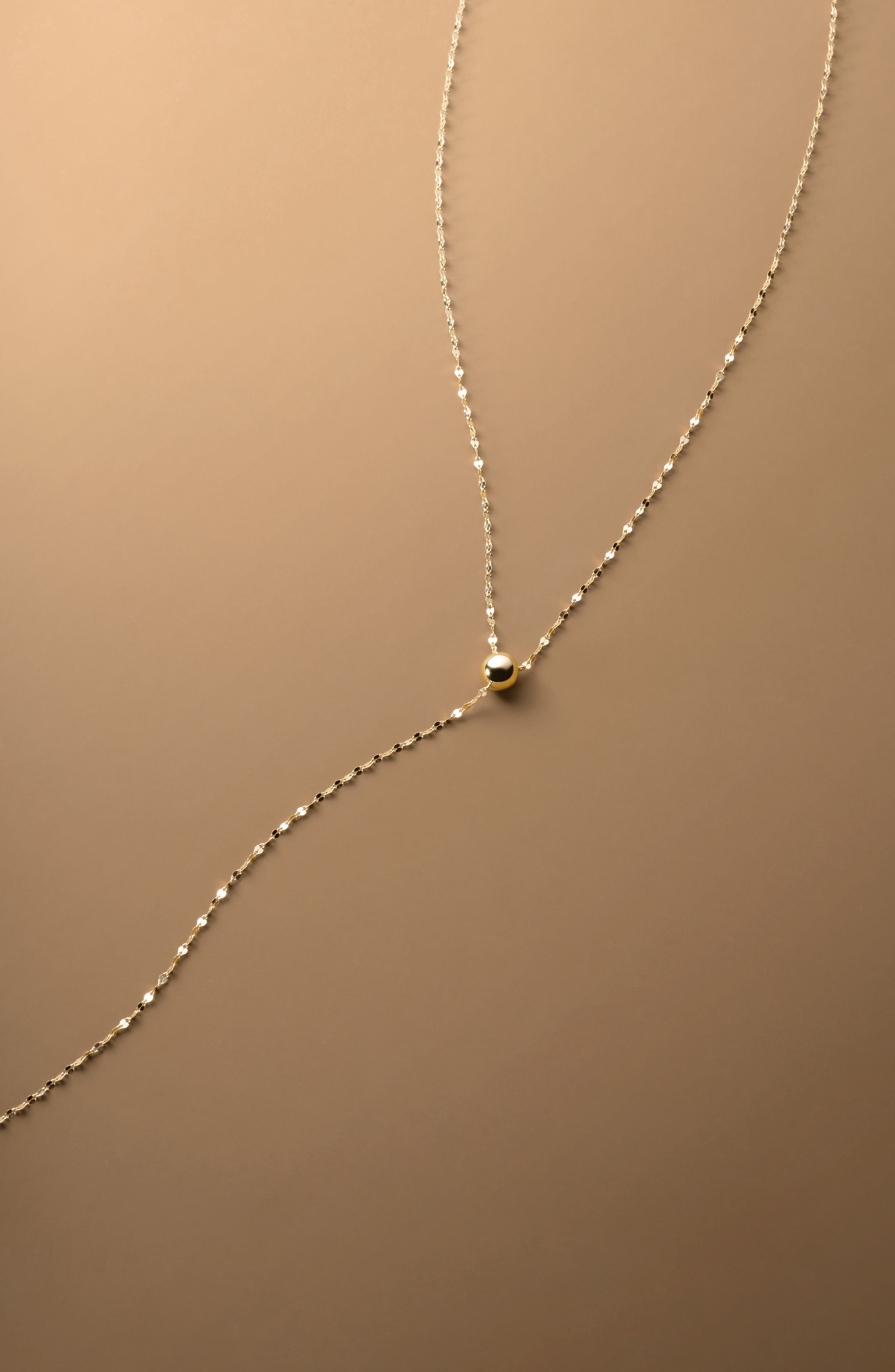 Blake Chain Choker Necklace,                             Alternate thumbnail 3, color,                             YELLOW GOLD