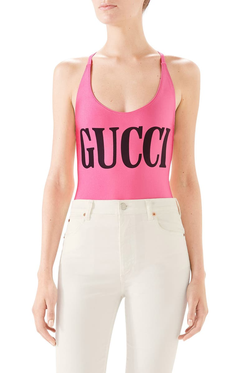 7a4fbf7ac9 Gucci One-Piece Swimsuit