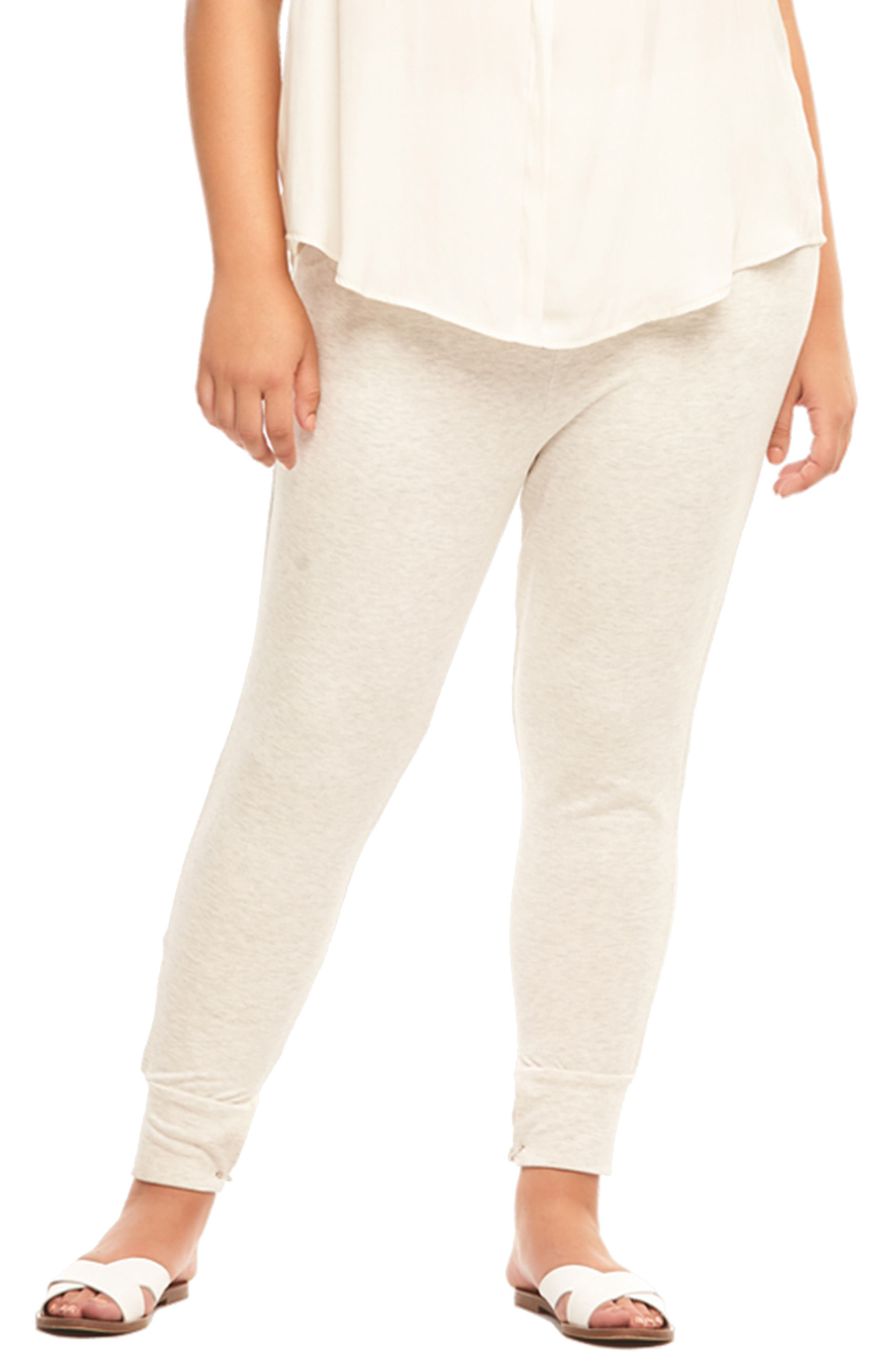Zadie Jogger Pants,                         Main,                         color, GREY WITH ROSE