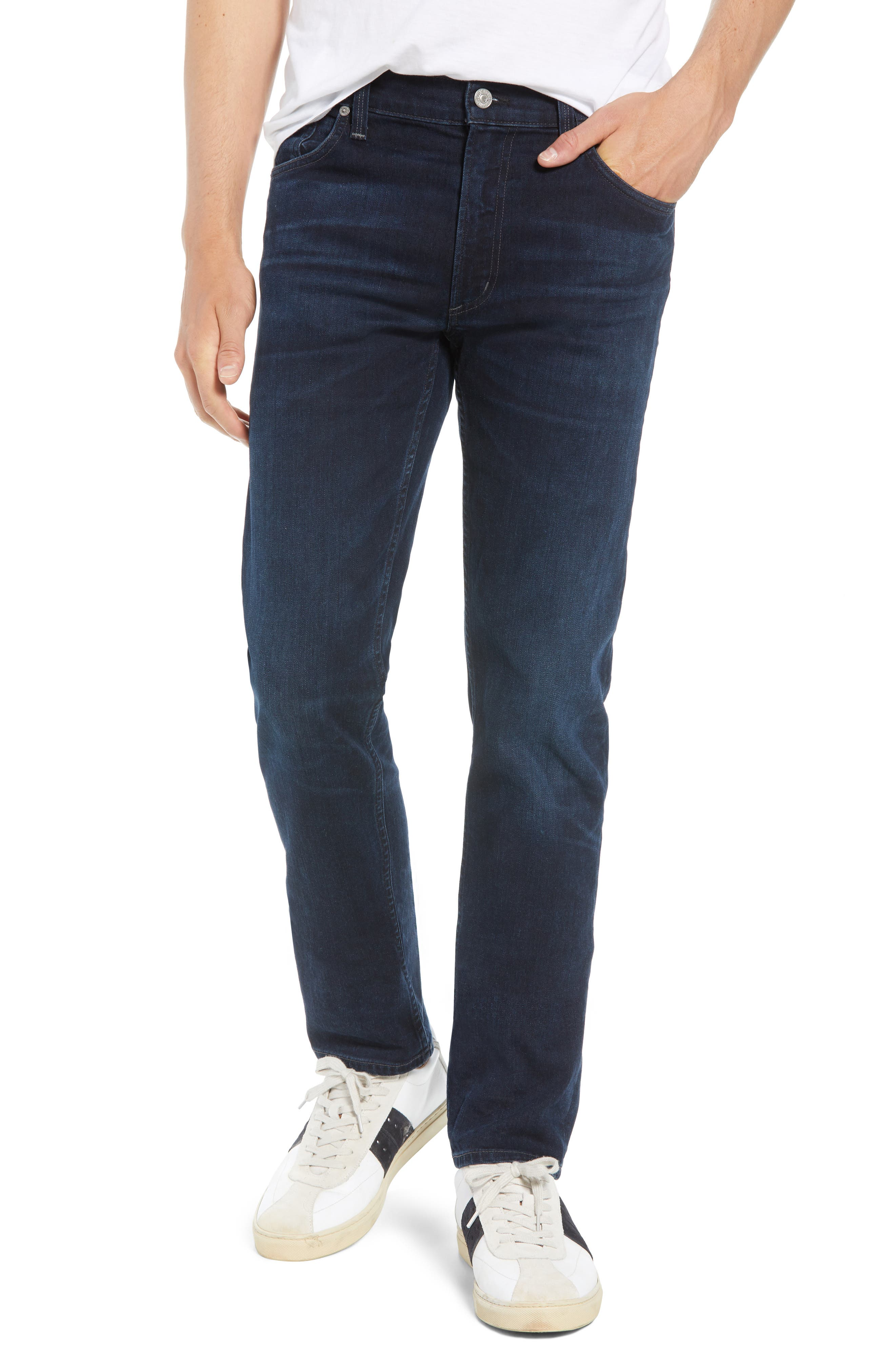 Bowery Slim Fit Jeans,                             Main thumbnail 1, color,                             407