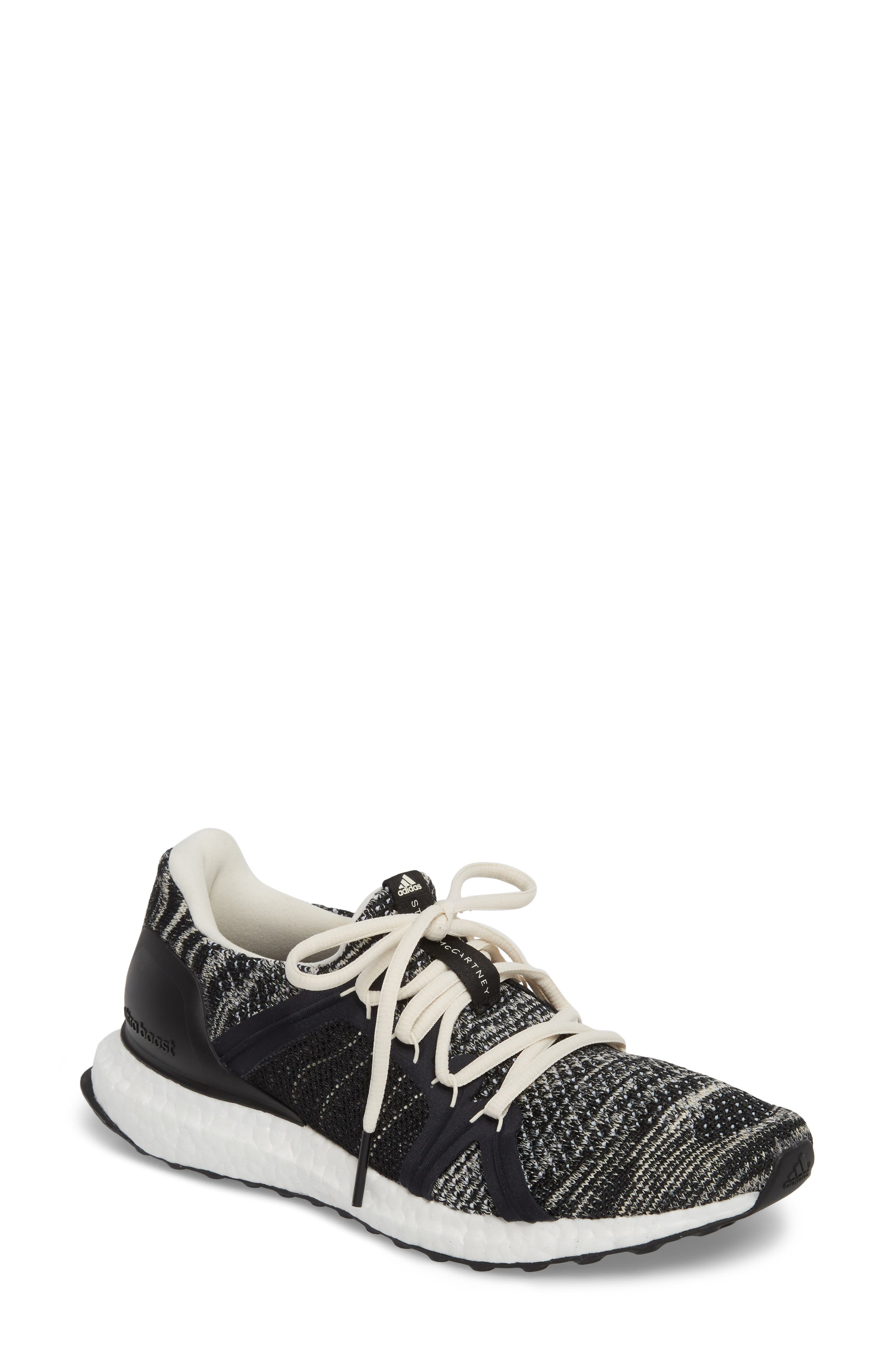 by Stella McCartney UltraBoost x Parley Running Shoe,                             Main thumbnail 1, color,