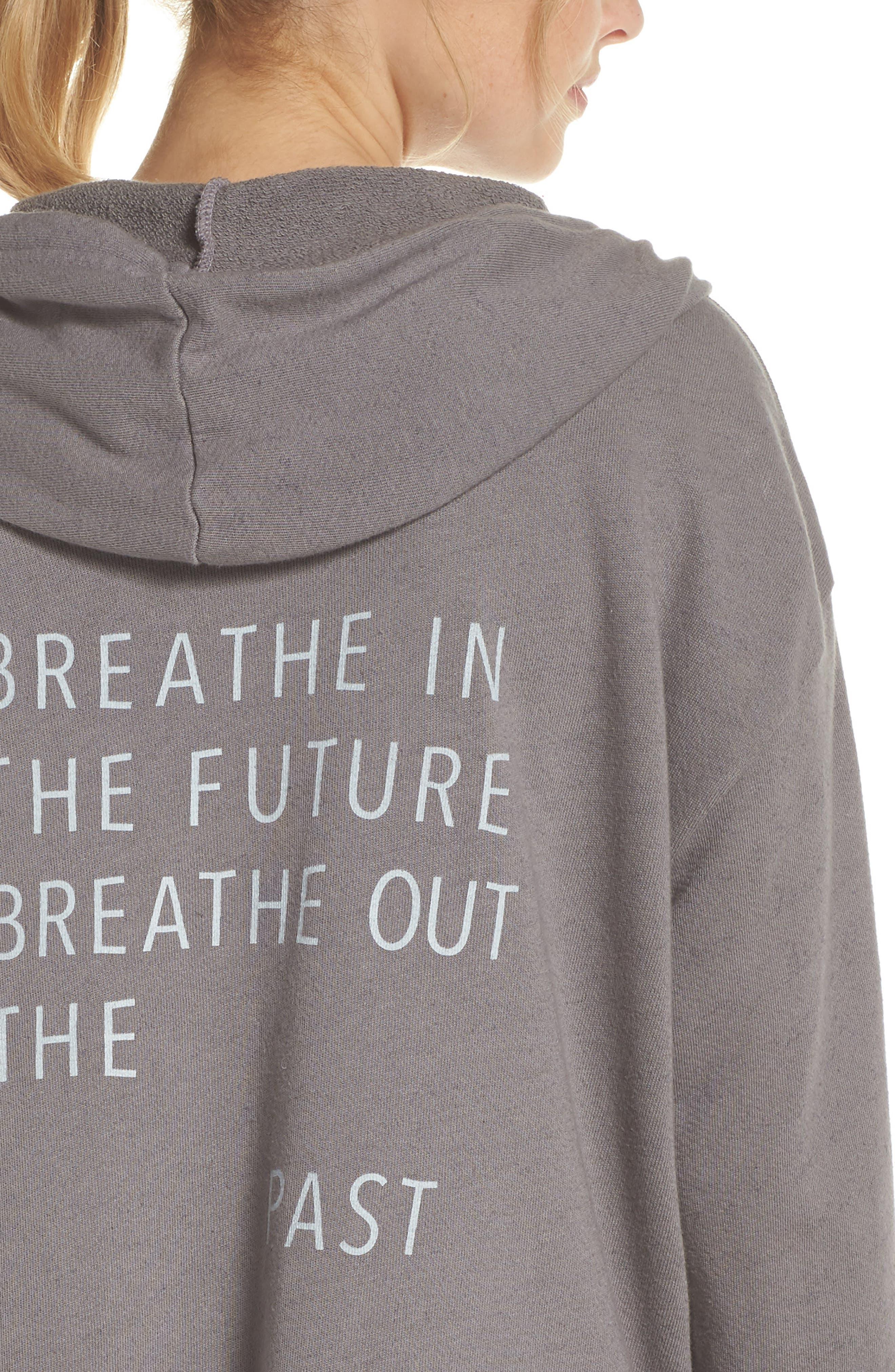 Sydney Breath In The Future Hoodie Sweatshirt,                             Alternate thumbnail 4, color,                             023