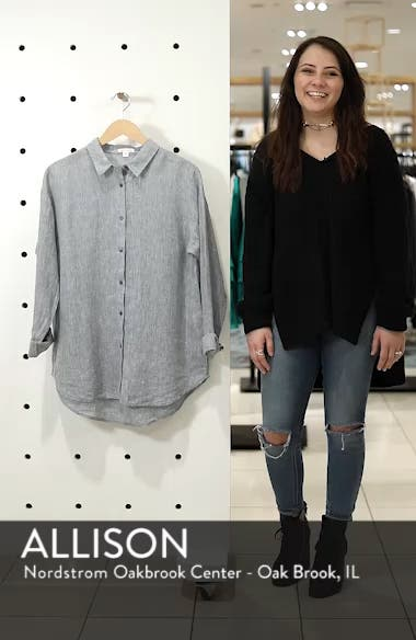 Organic Linen Shirt, sales video thumbnail