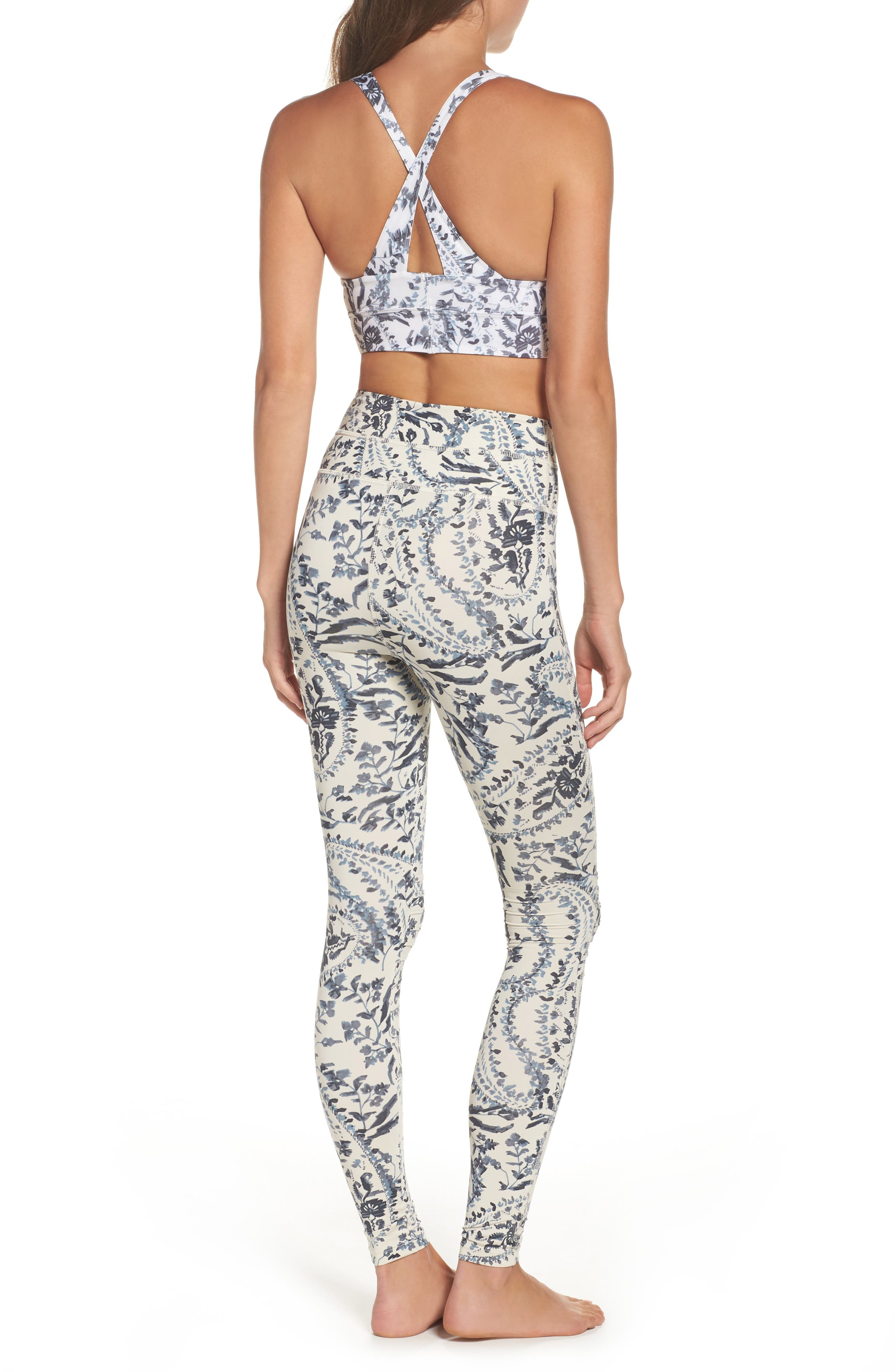 FP Movement Print City Slicker High Waist Leggings,                             Alternate thumbnail 9, color,                             400