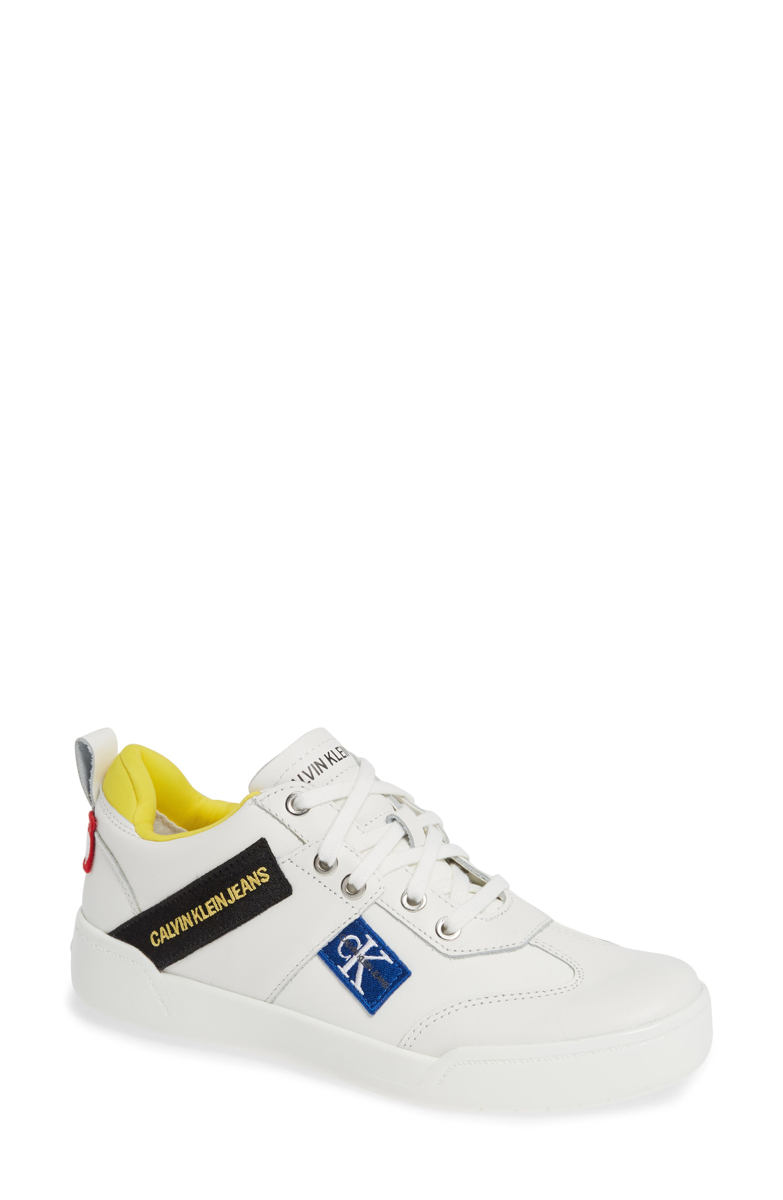 Nilla Sneaker in Bright White Leather