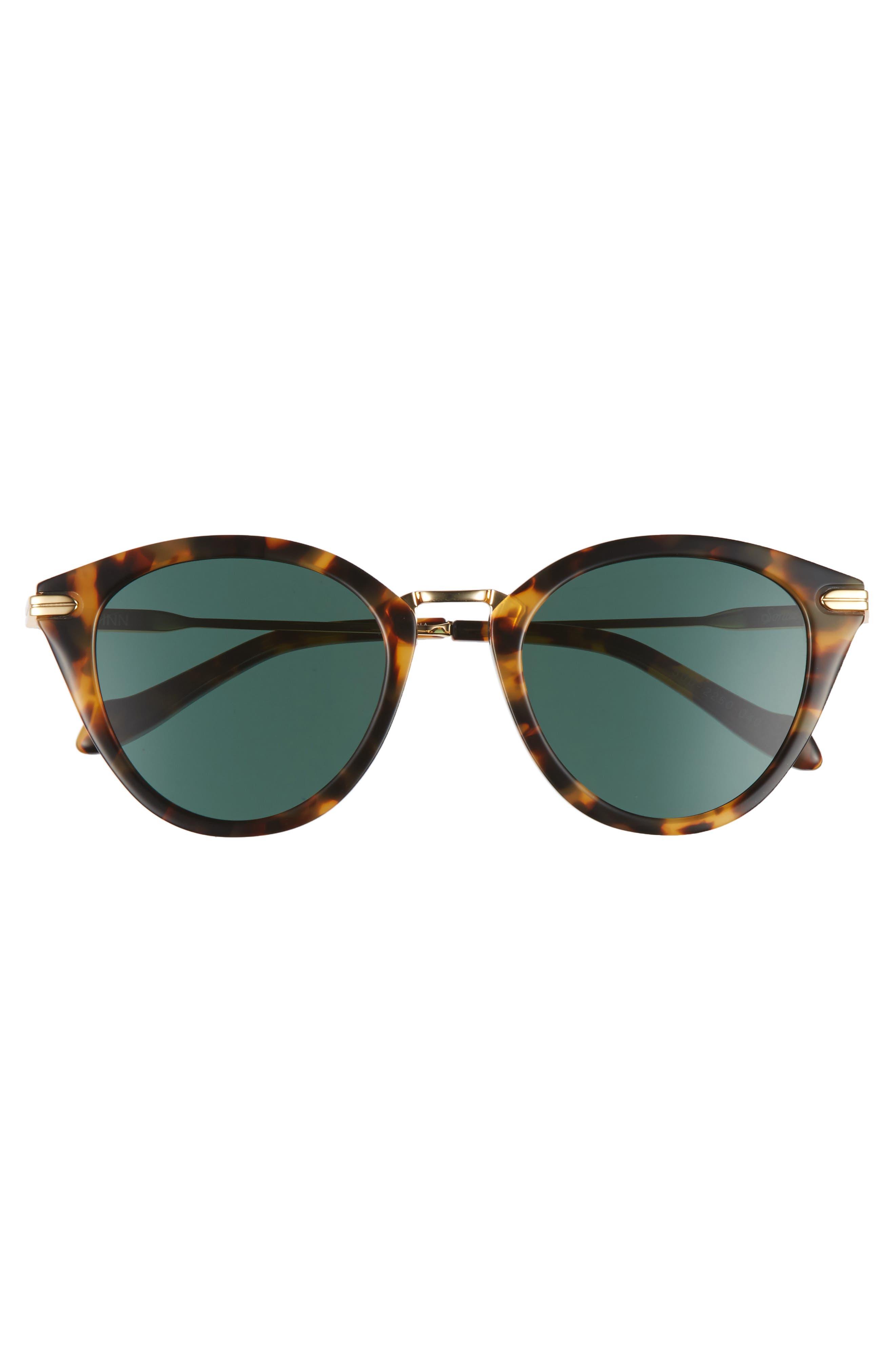 Quinn 48mm Cat Eye Sunglasses,                             Alternate thumbnail 11, color,