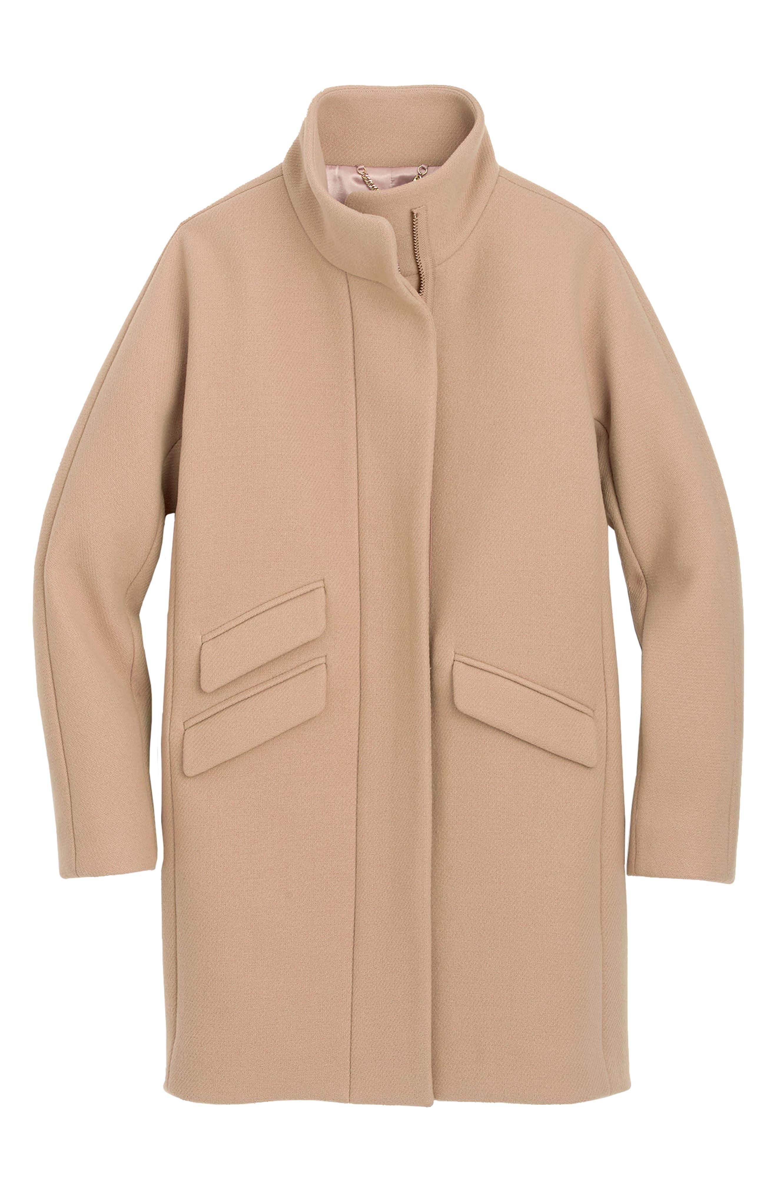 Stadium Cloth Cocoon Coat,                             Alternate thumbnail 28, color,