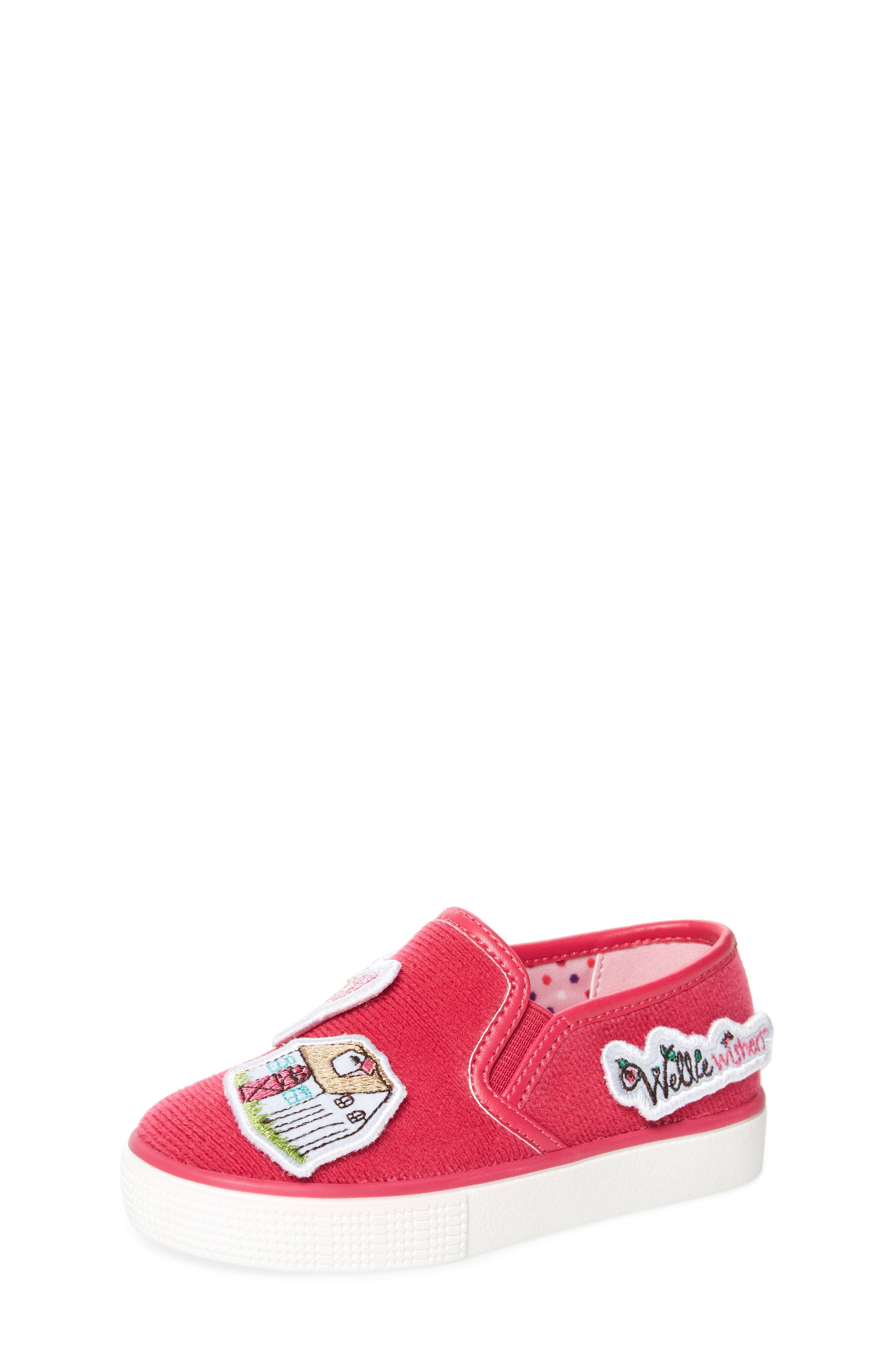 Patch Slip-On Sneaker,                             Main thumbnail 1, color,                             650
