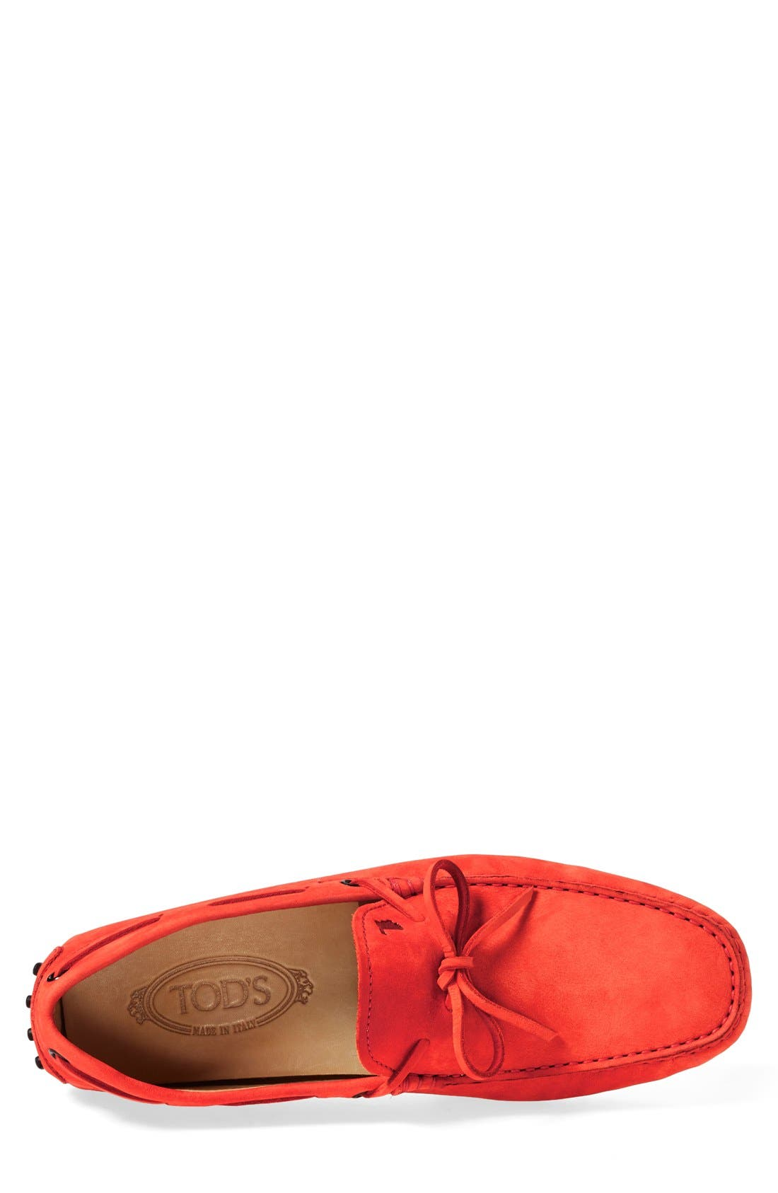 Gommini Tie Front Driving Moccasin,                             Alternate thumbnail 65, color,