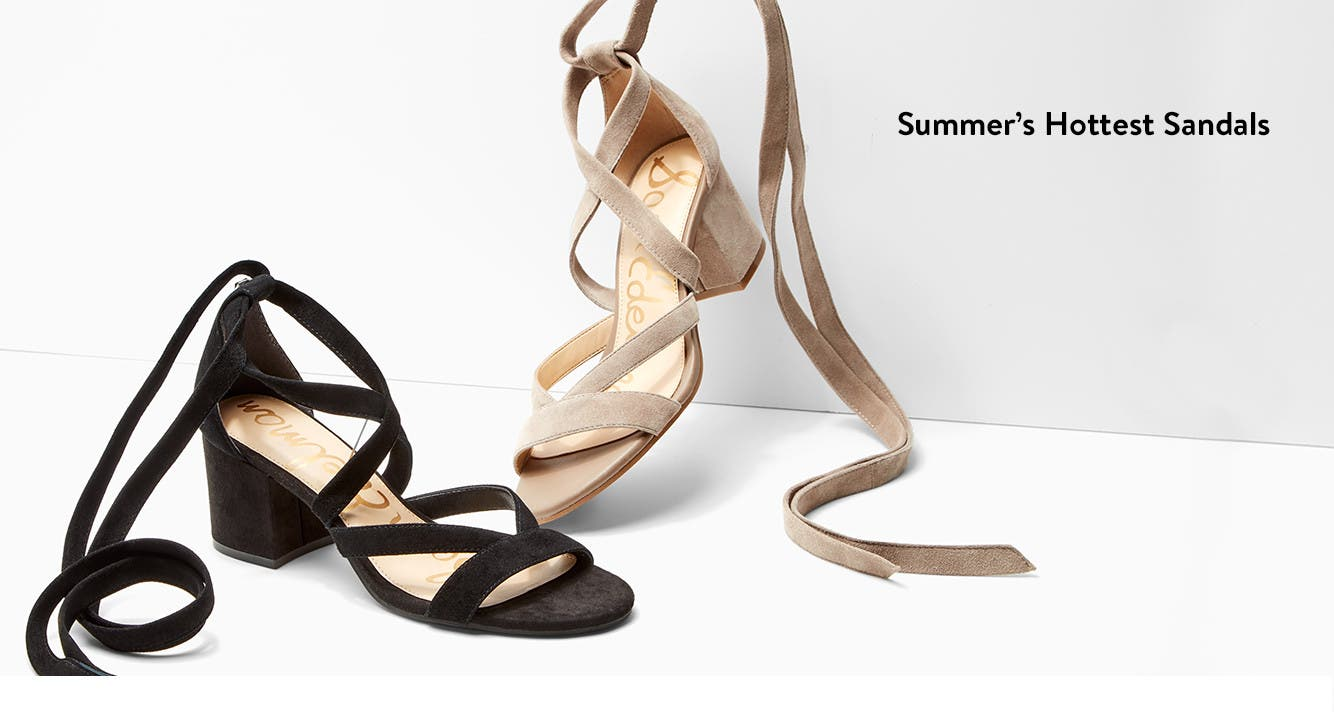 Sam Edelman sandals.