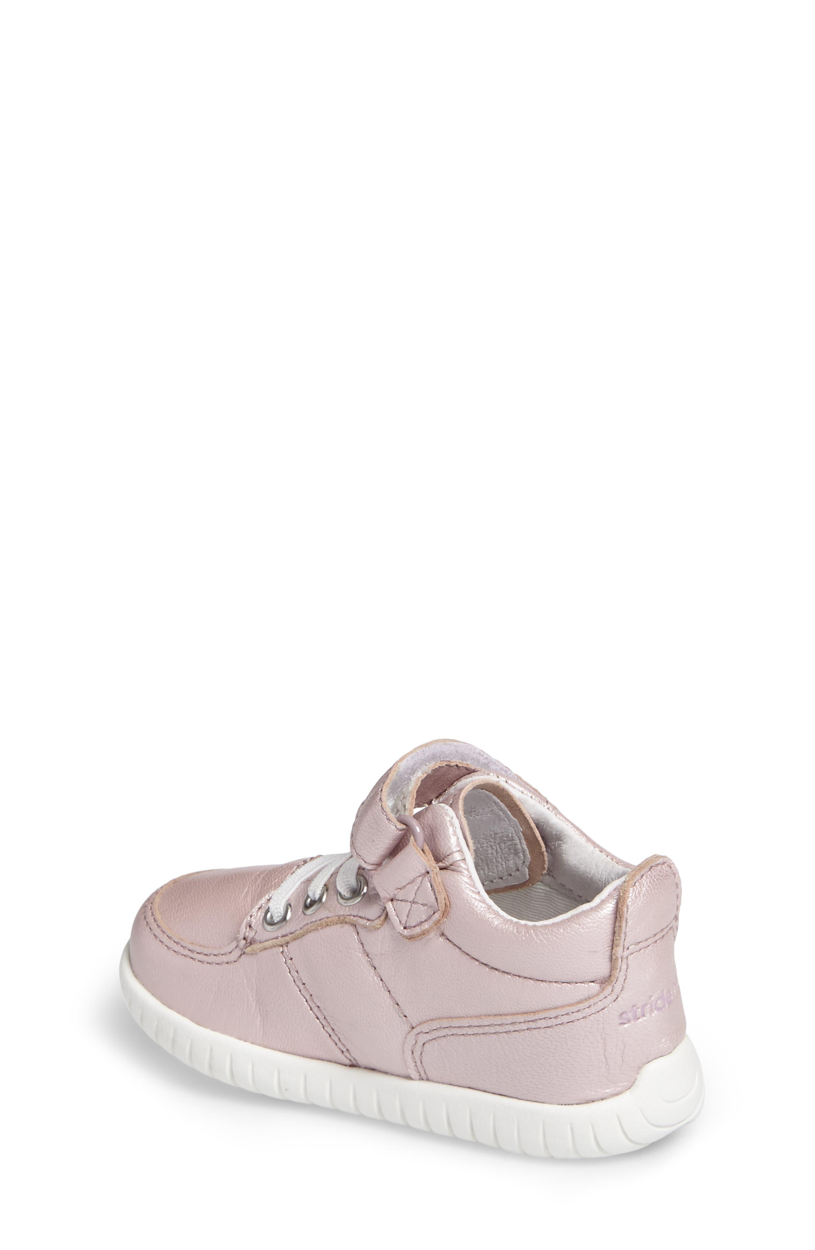Bailey High Top Sneaker,                             Alternate thumbnail 2, color,                             PINK METALLIC