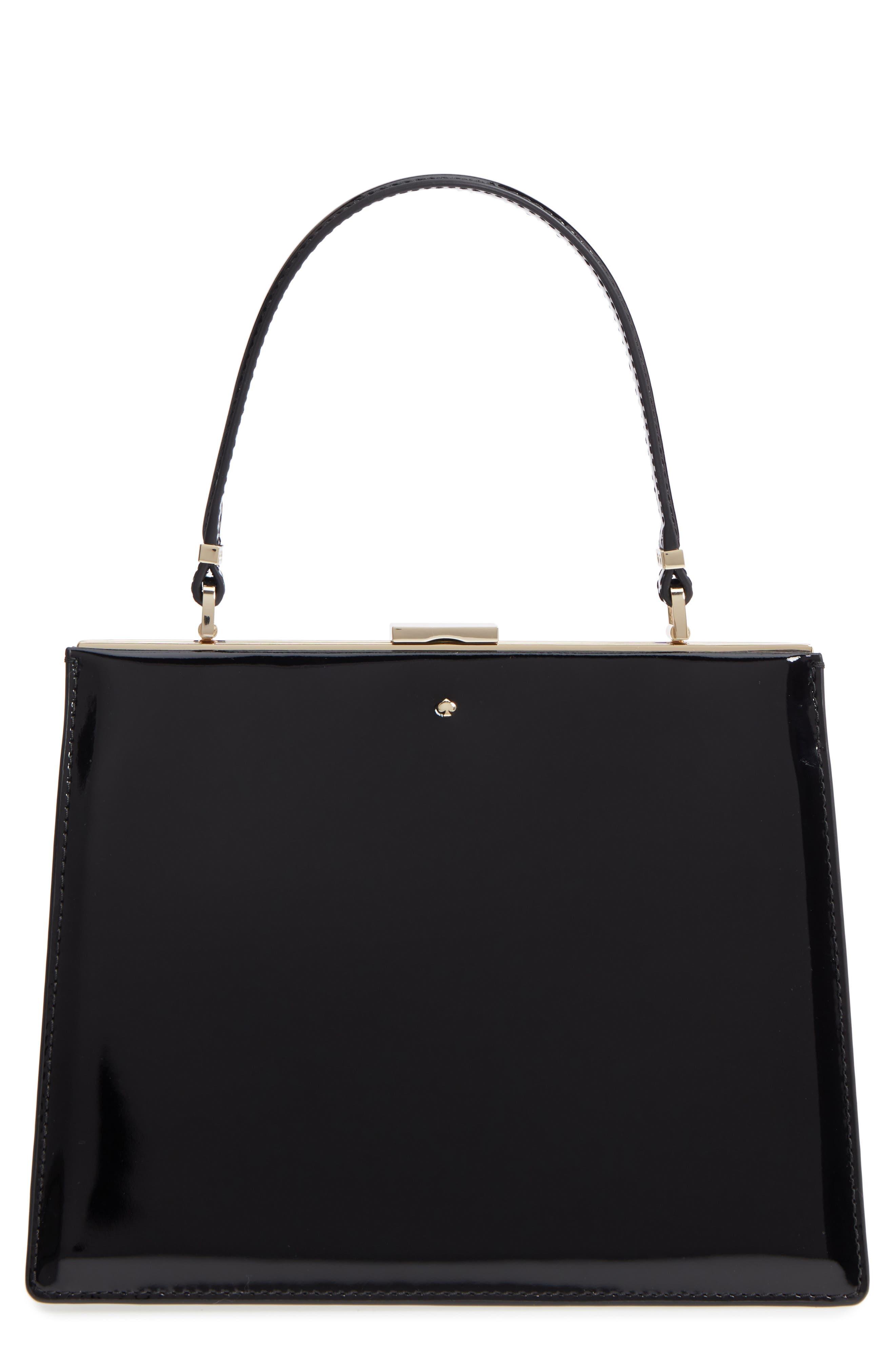 KATE SPADE NEW YORK madison moore road - chari leather handbag, Main, color, 001