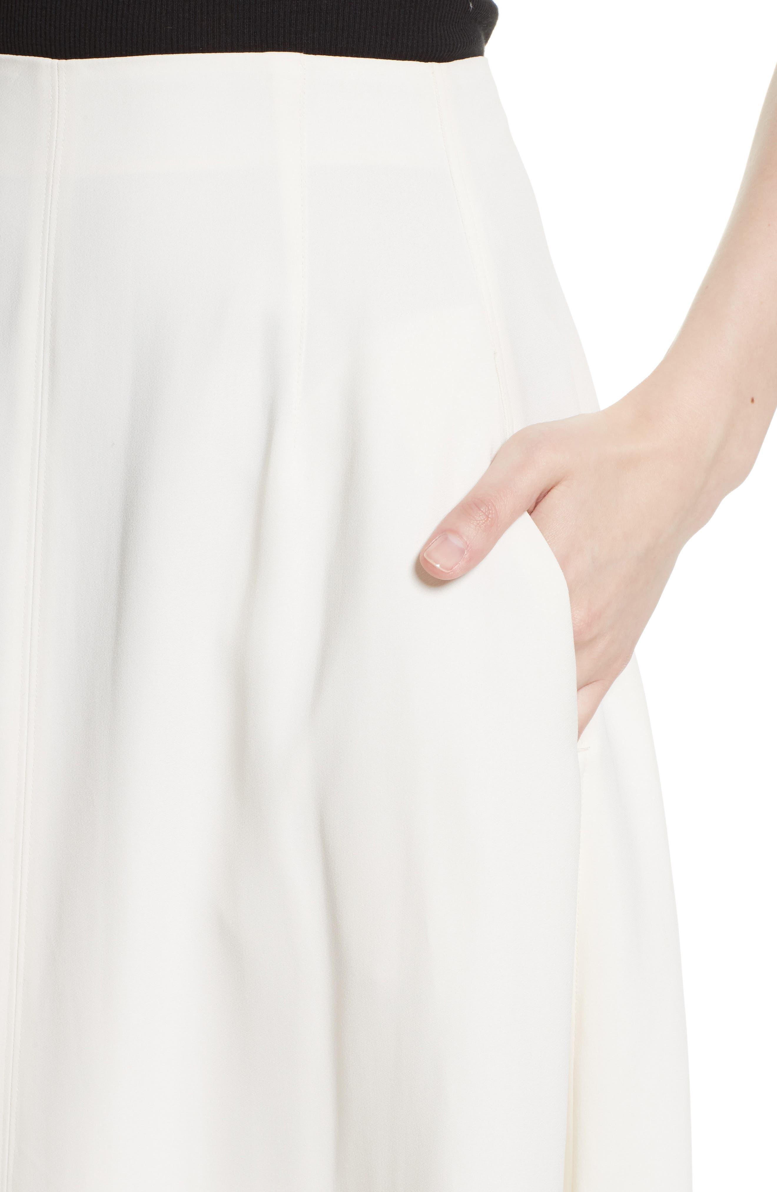Lottie A-Line Midi Skirt,                             Alternate thumbnail 4, color,                             903